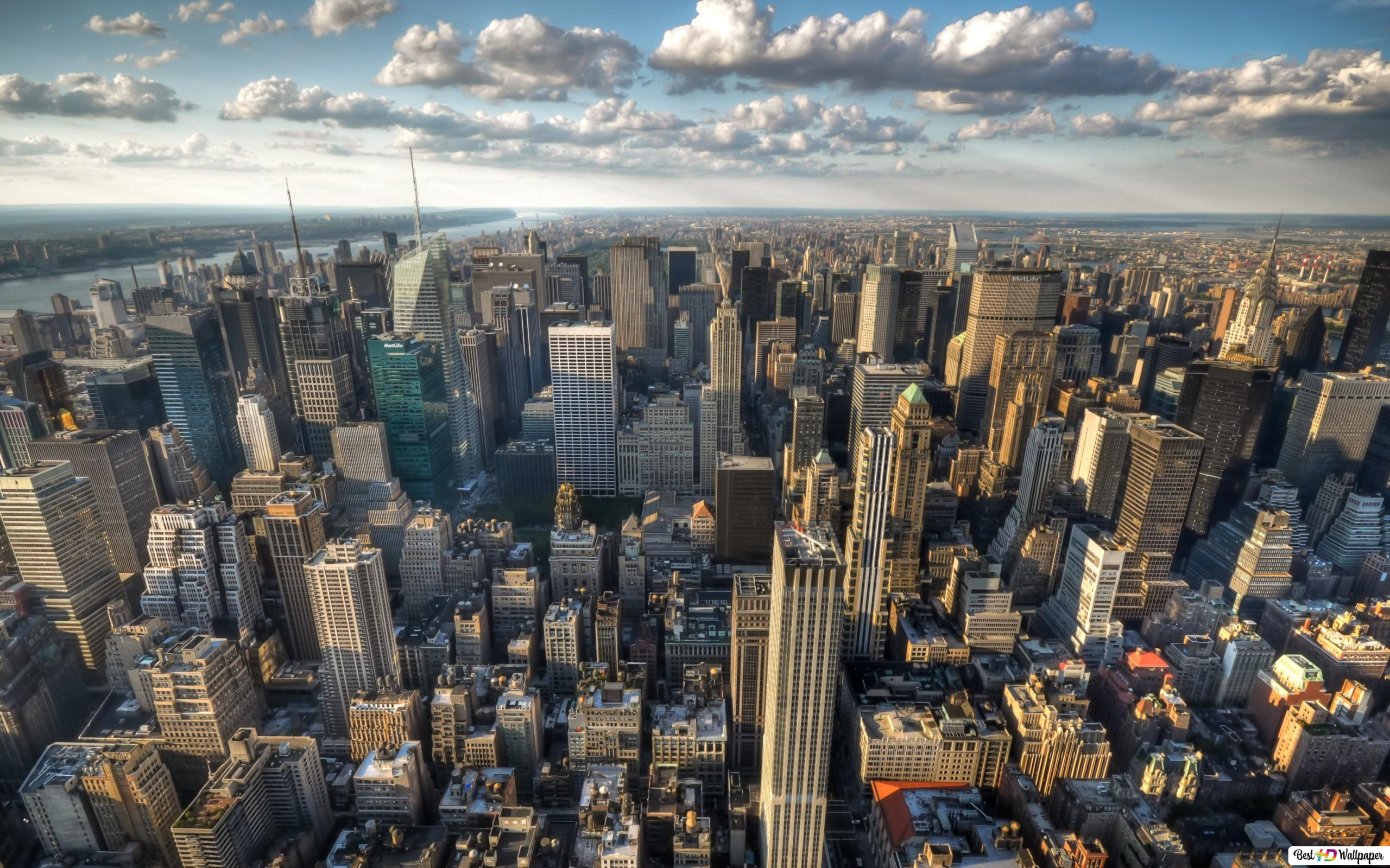New York Morning Hd Wallpaper Download