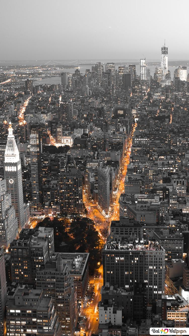 New York Night Hd Wallpaper Download
