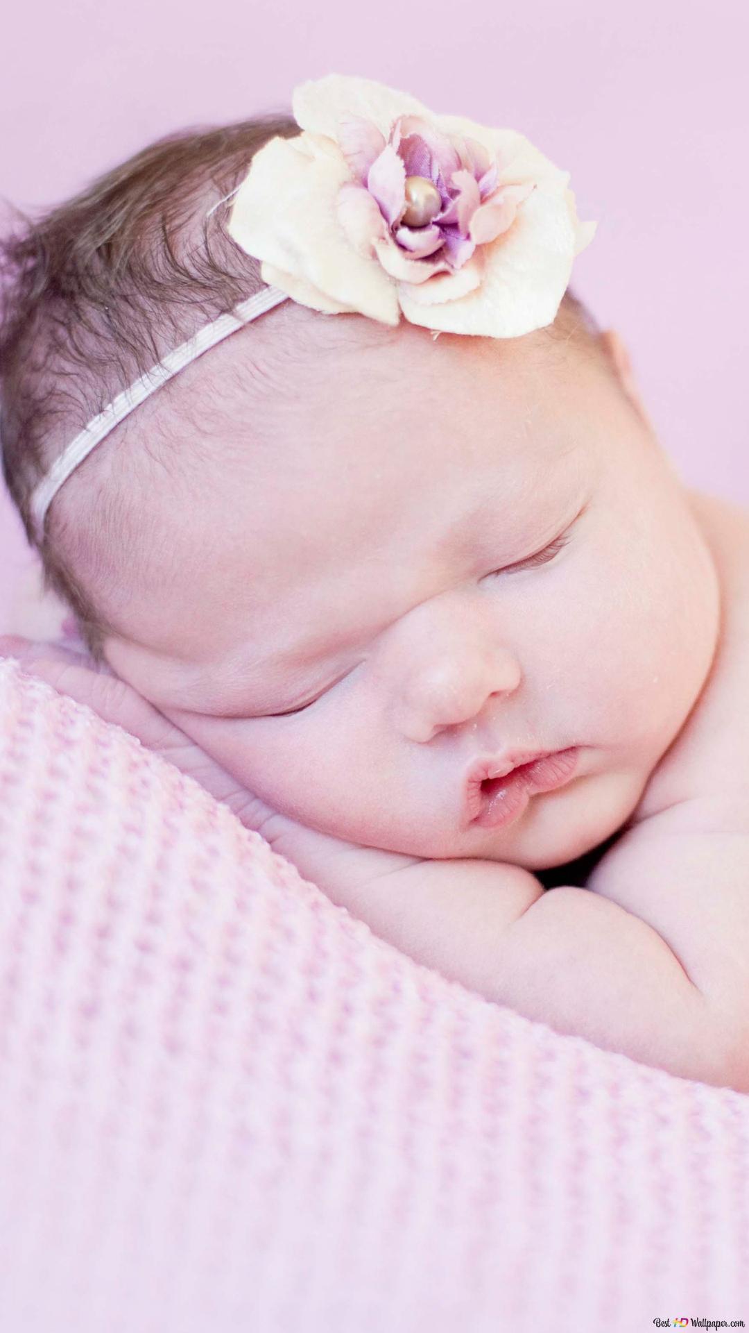 Newborn Baby Hd Wallpaper Download