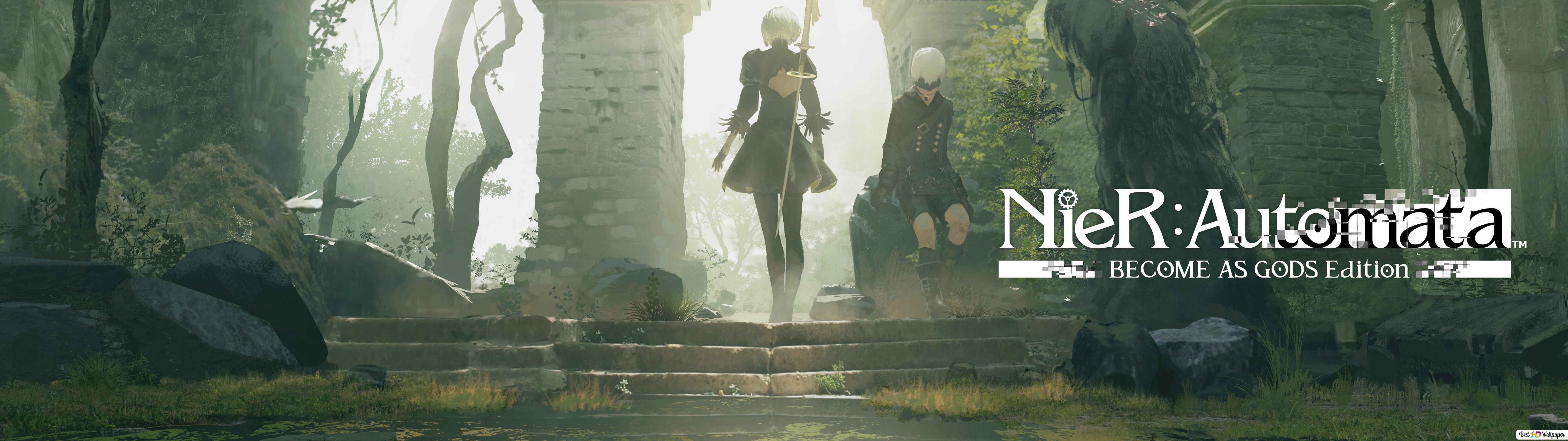 Nier Automata Become As Gods Edition Hd Wallpaper Download