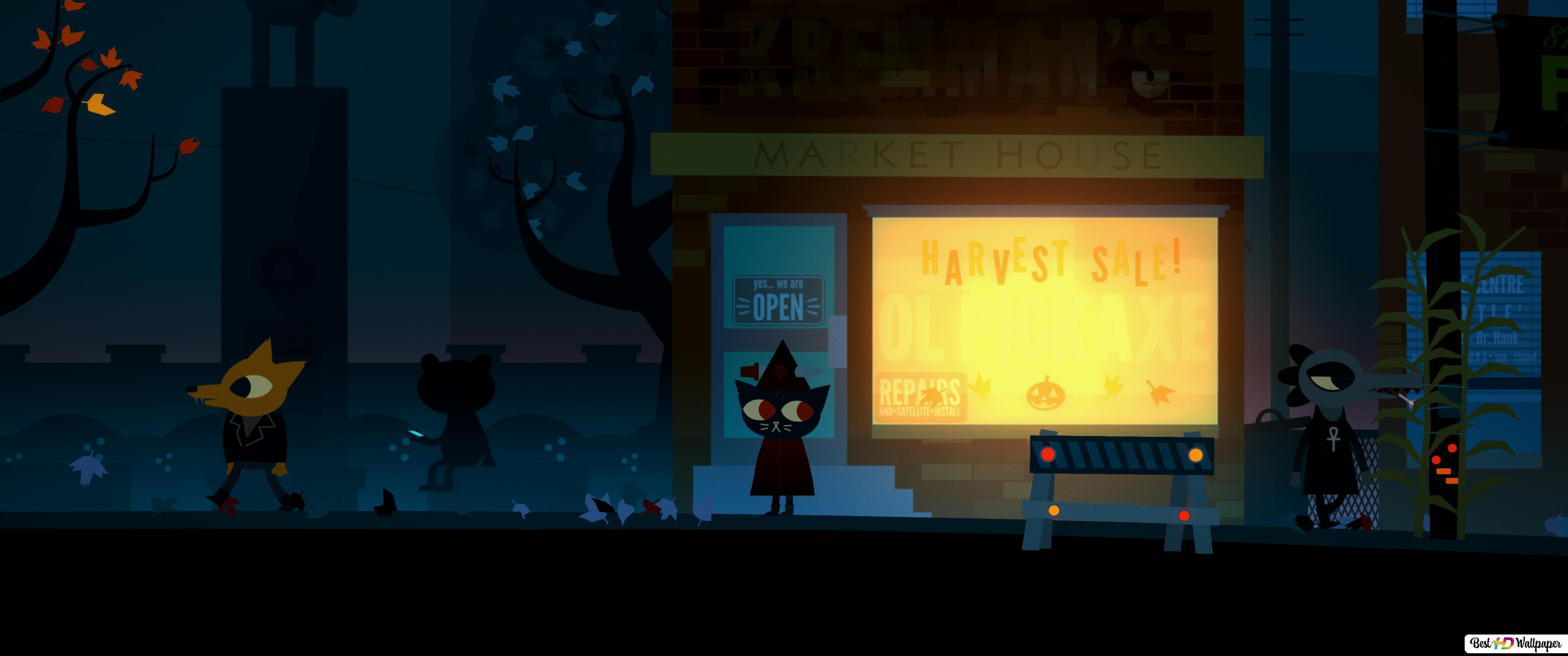 Night In The Woods Hd Wallpaper Download