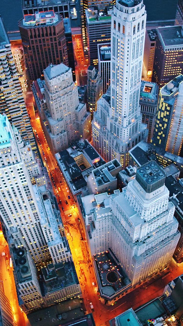 Night Lights In New York Hd Wallpaper Download