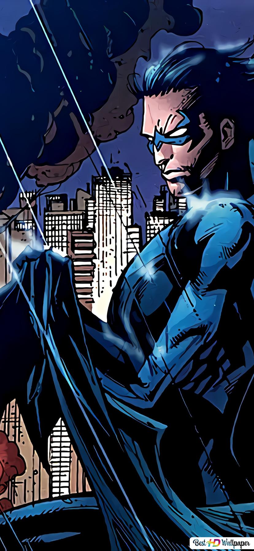 30+ Nightwing Wallpaper 4K Background