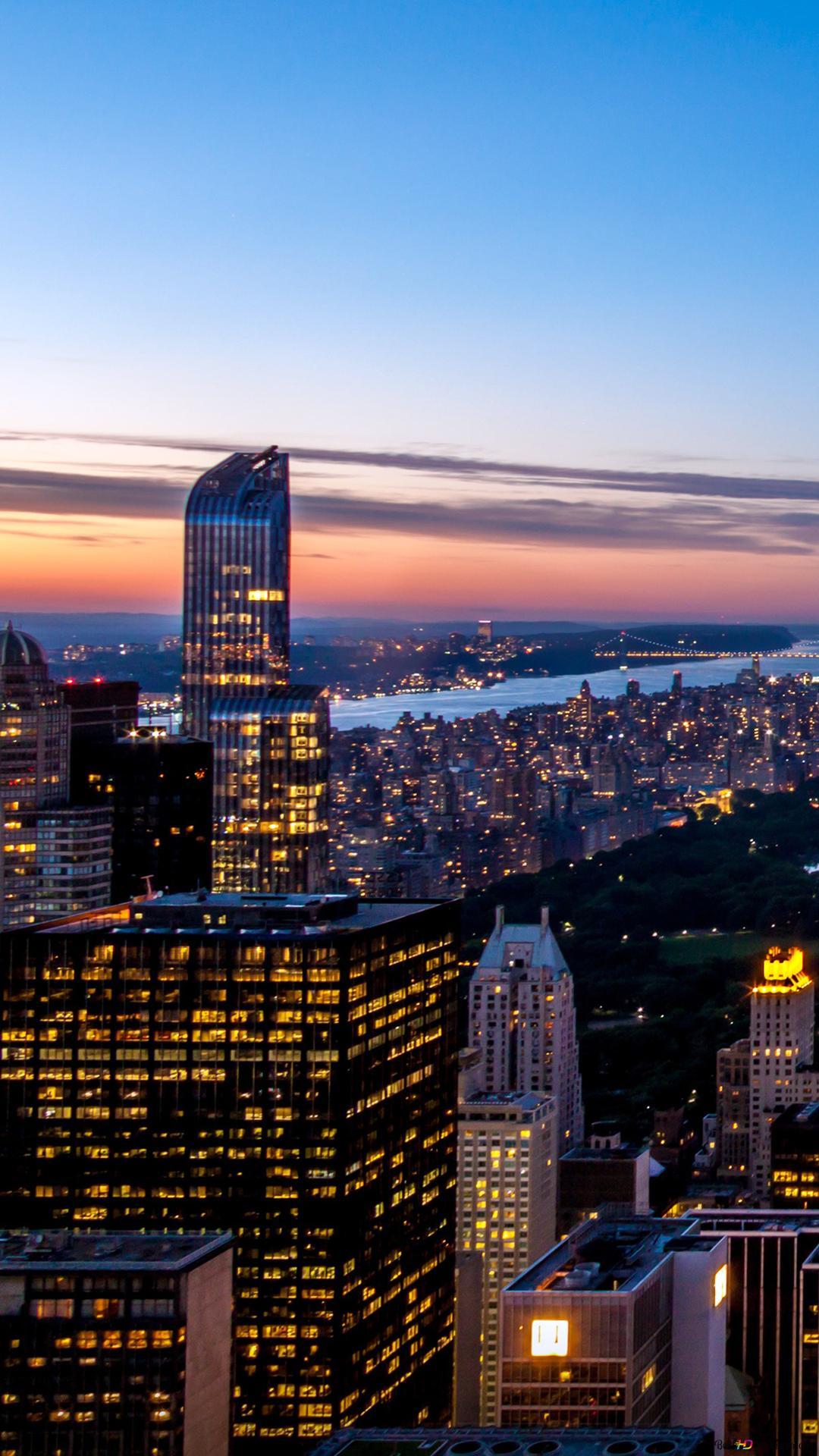 紐約夜景高清壁紙下載