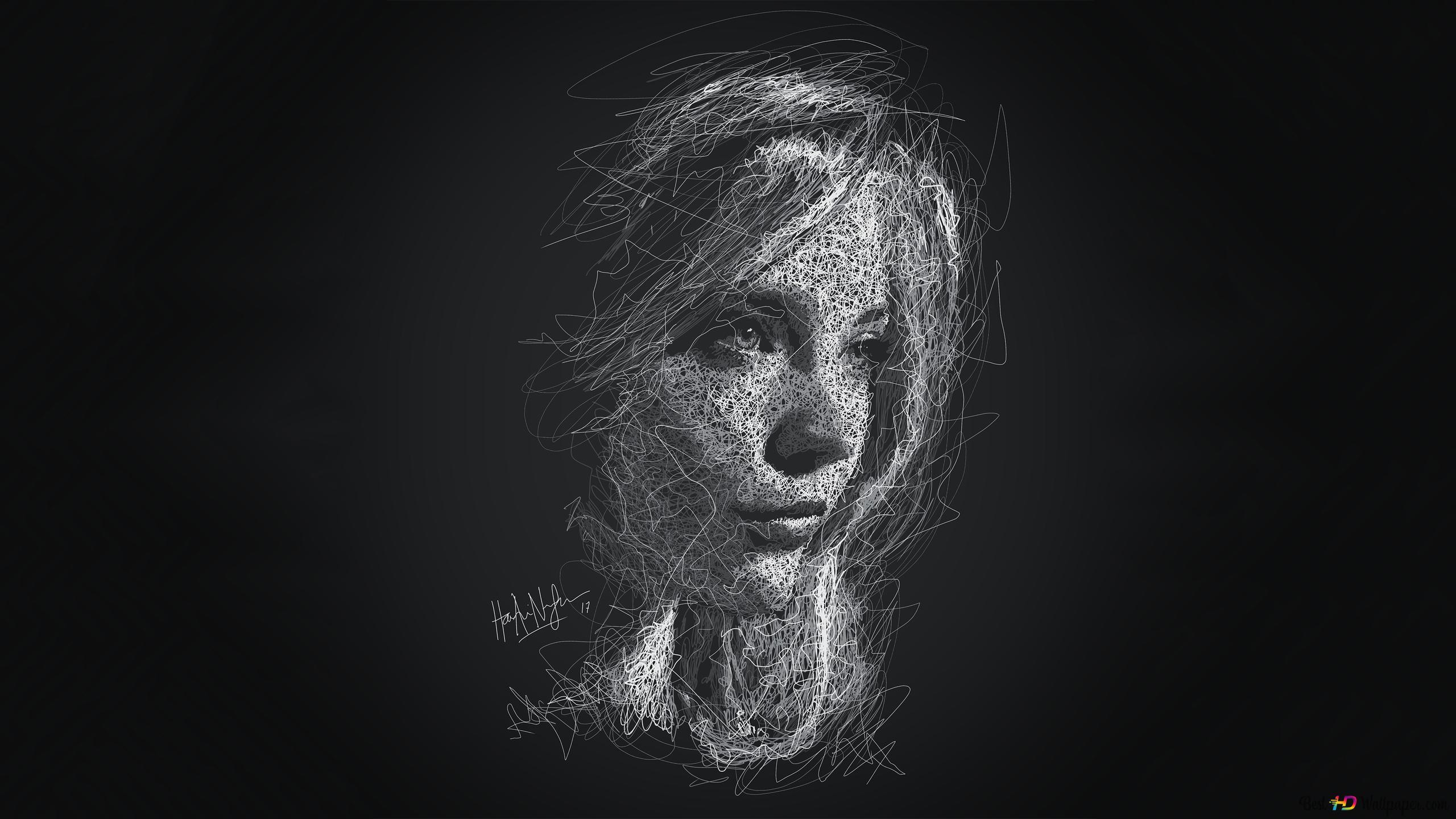 Noir Natalie Hd Fond Décran Télécharger