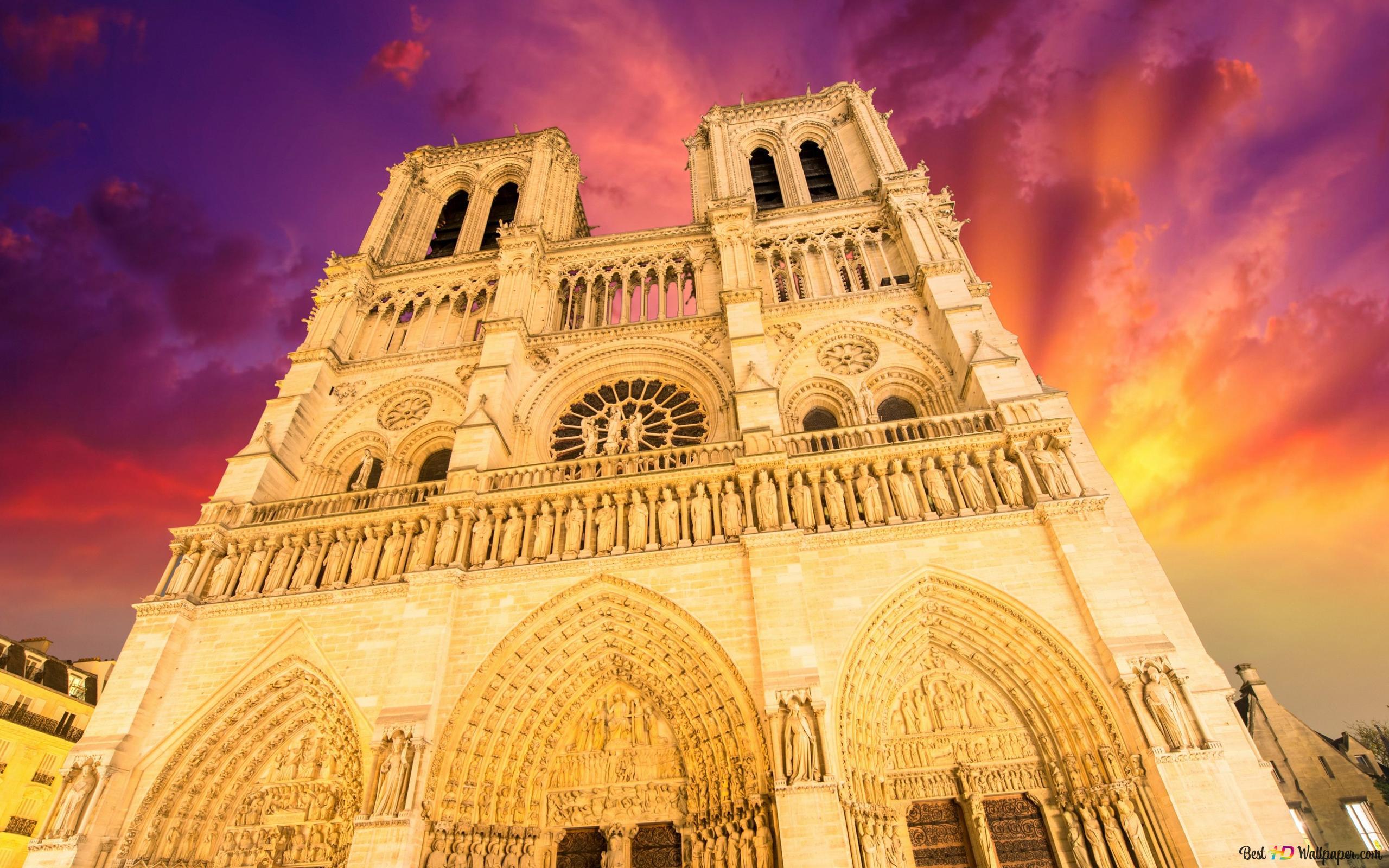 Notre Dame De Paris Hd Wallpaper Download