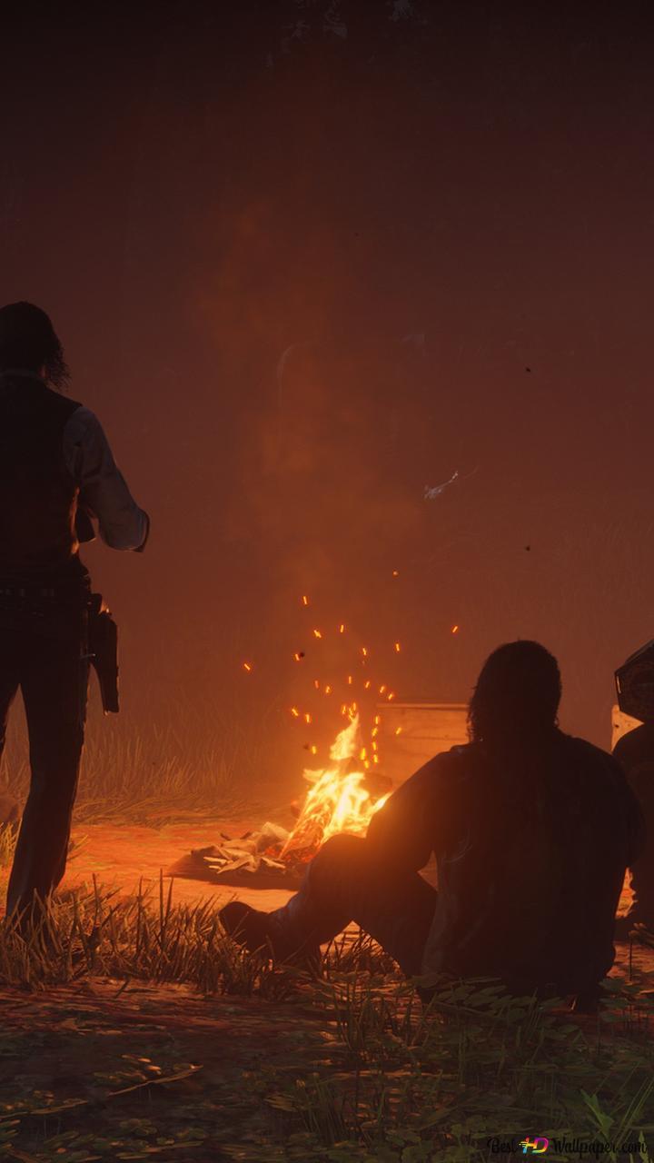 Nuit De Red Dead Redemption Hd Fond Décran Télécharger