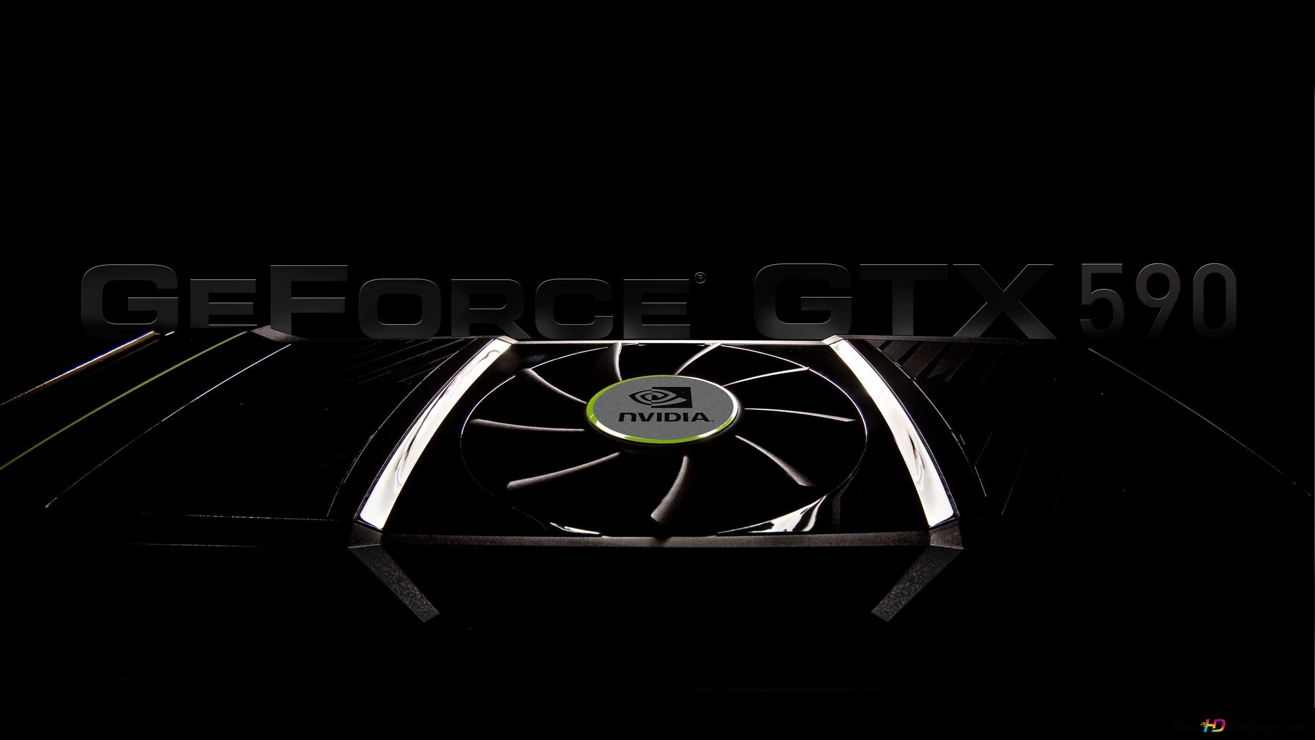 Nvidia Geforce Gtx 590の Hd壁紙のダウンロード