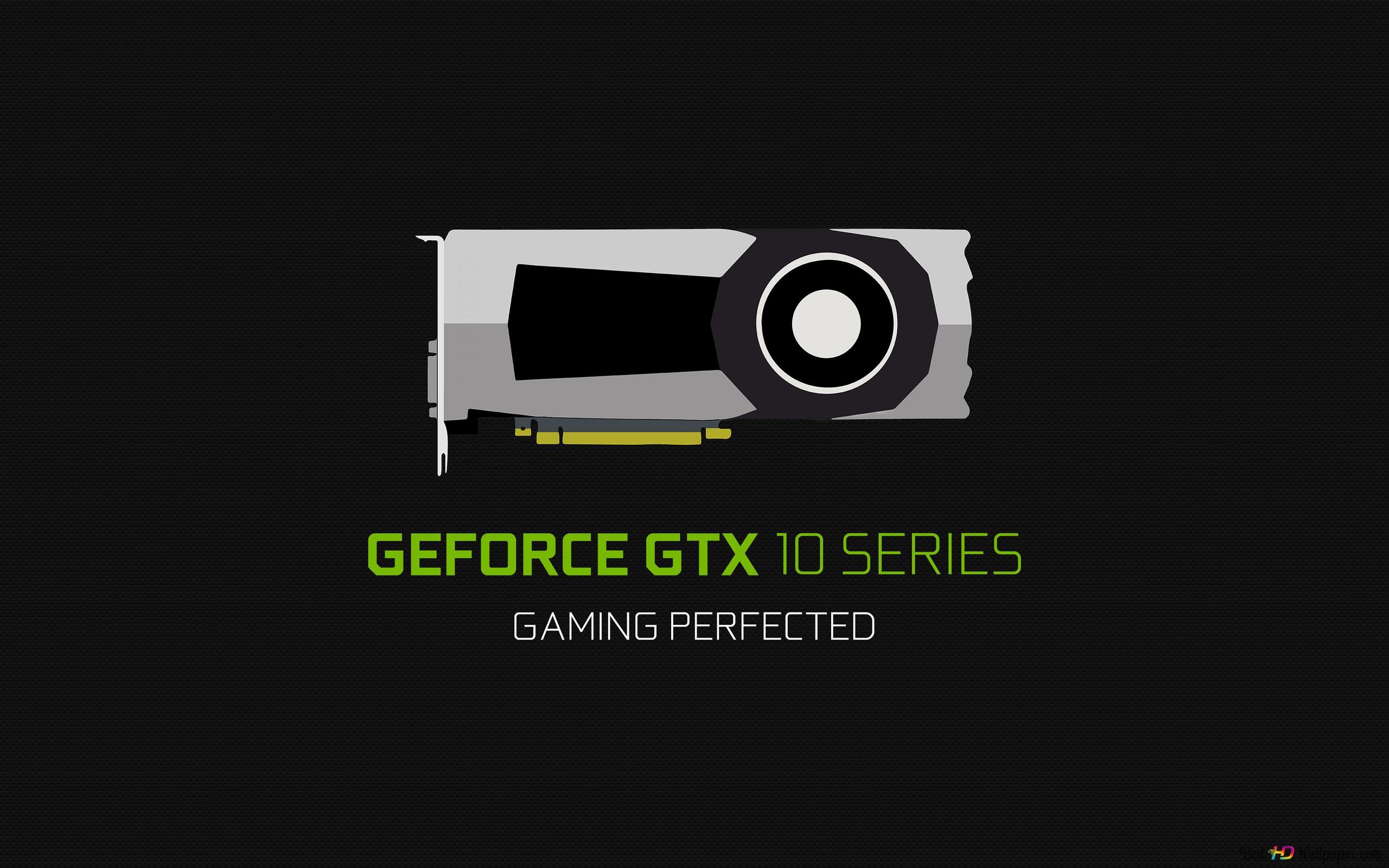 Nvidiaののgeforce Gtx 10シリーズ ゲームが完成 Hd壁紙のダウンロード