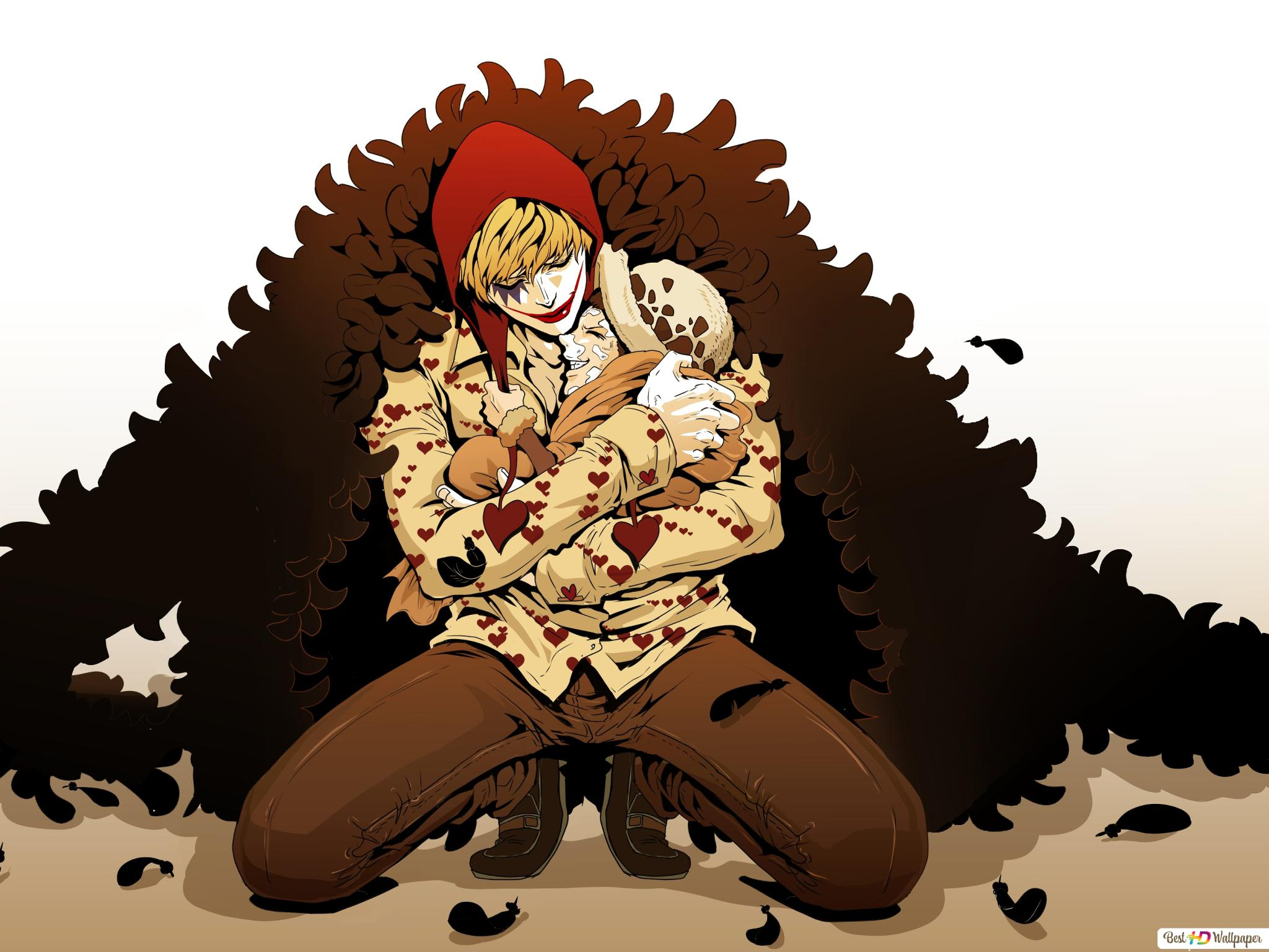 One Piece - Corazon Doflamingo,Trafalgar Law HD wallpaper
