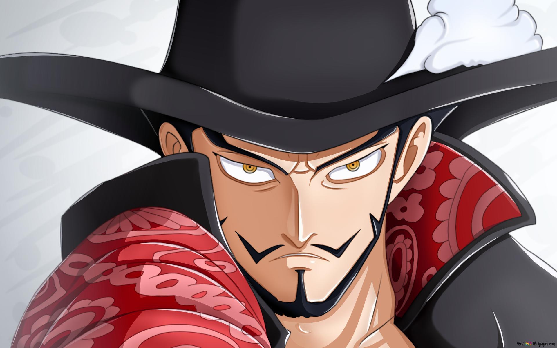 One Piece Dracule Mihawk Hd Wallpaper Download