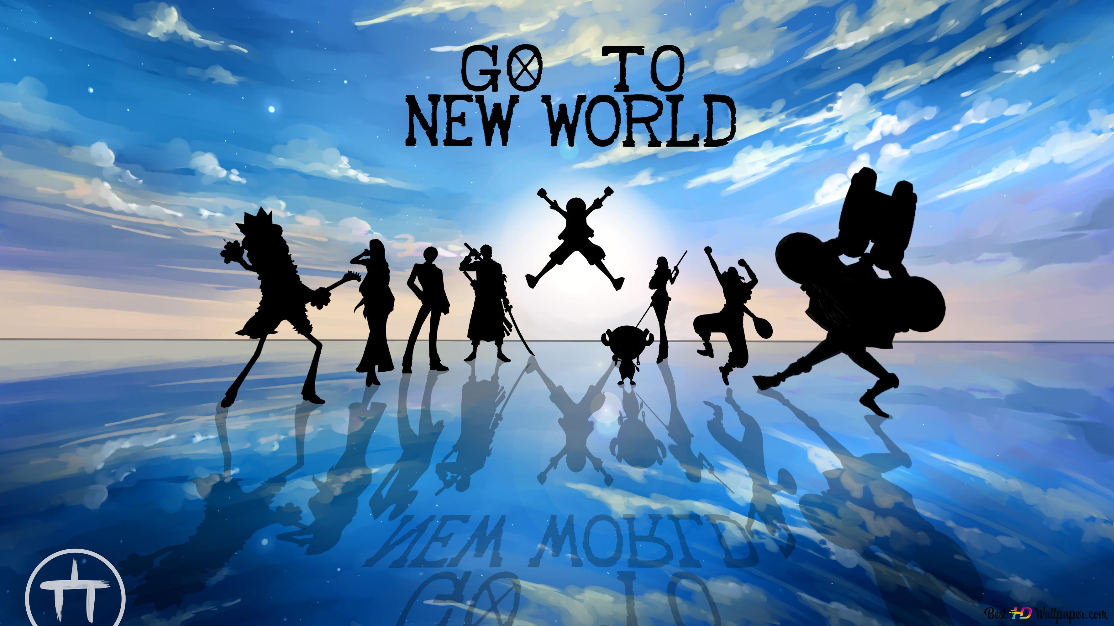 One Piece Go To New World 4k Unduhan Wallpaper Hd