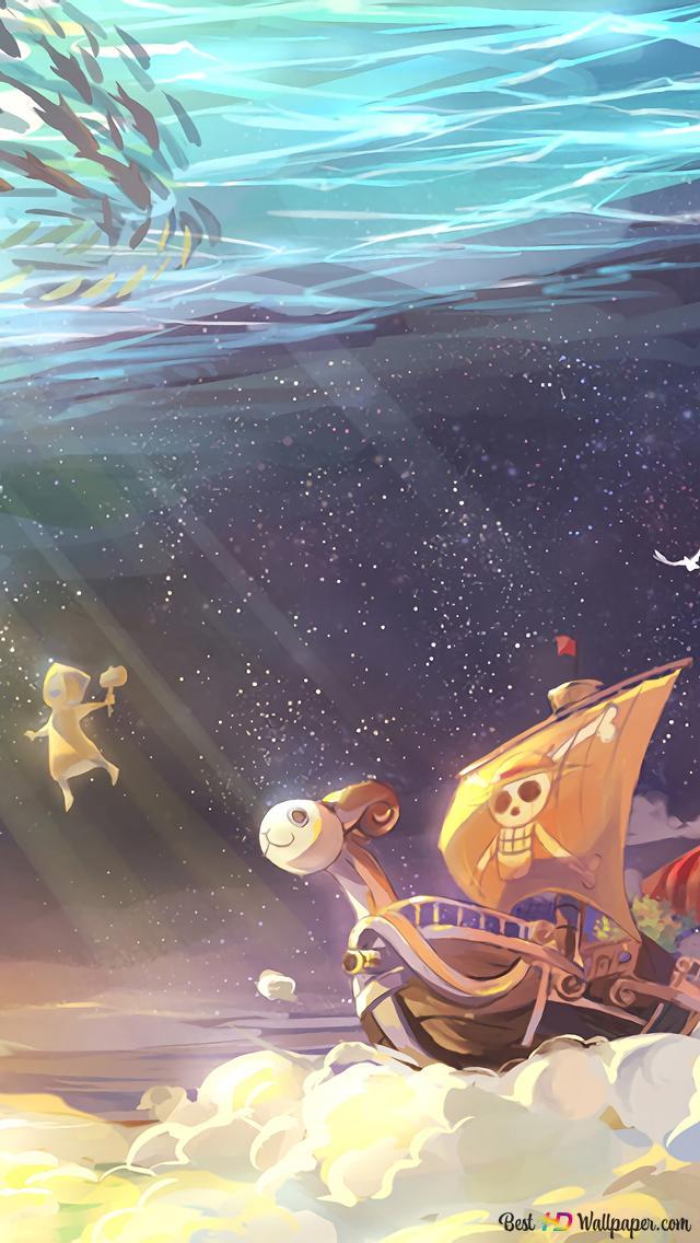 One Piece - Going Merry HD fond d'écran télécharger