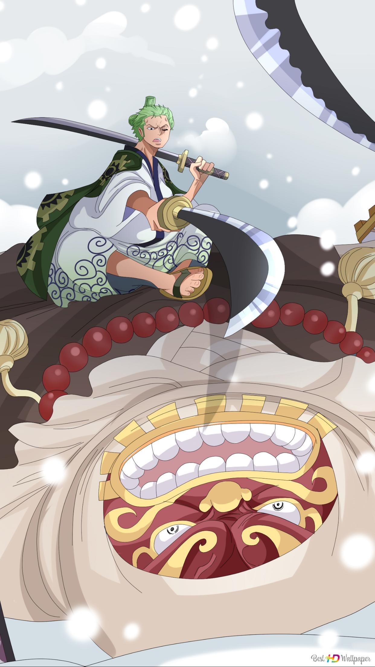 One Piece Gyukimaru Zoro Unduhan Wallpaper Hd