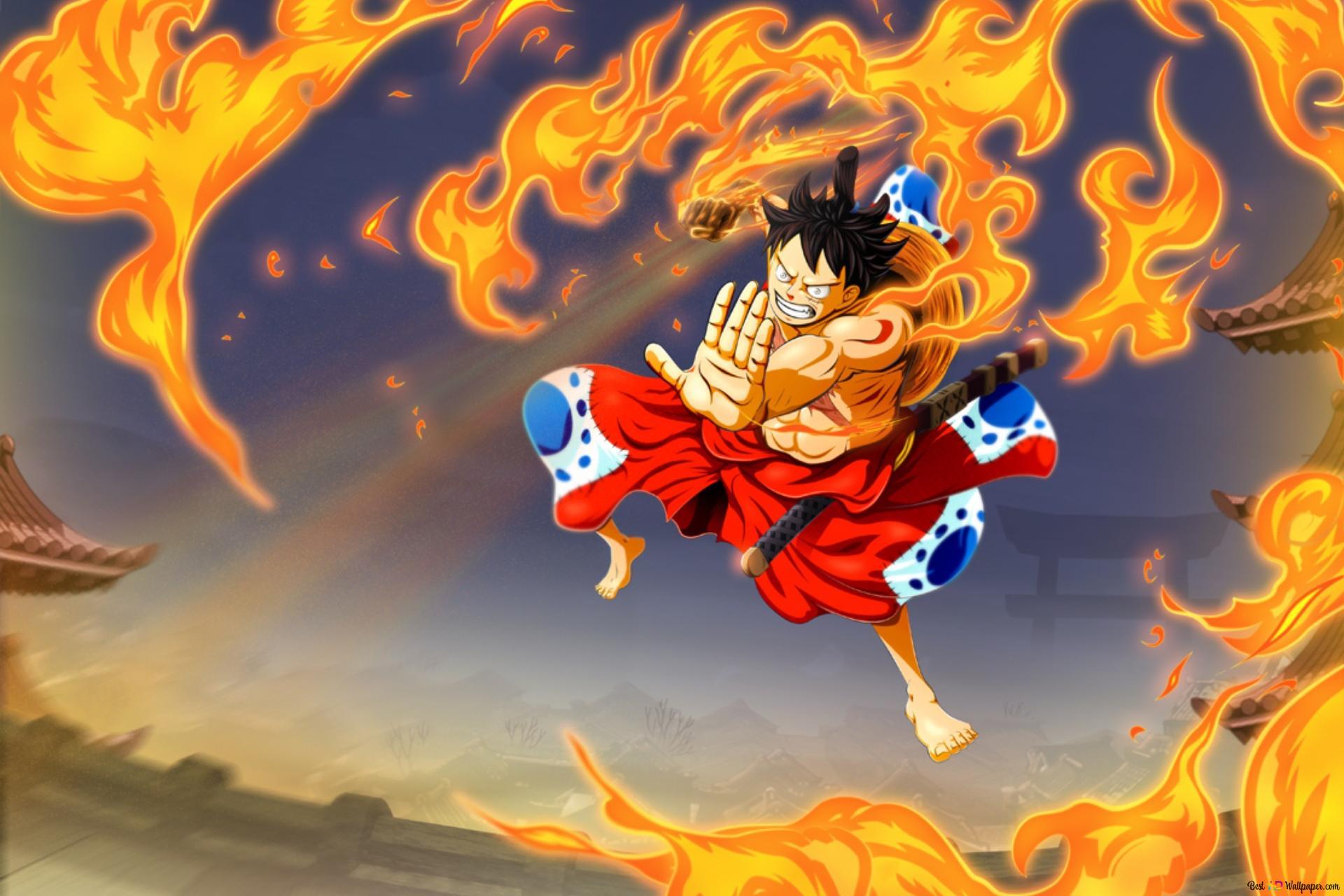 4k Ultra Hd Monkey D Luffy One Piece Wallpaper 4k Gambarku