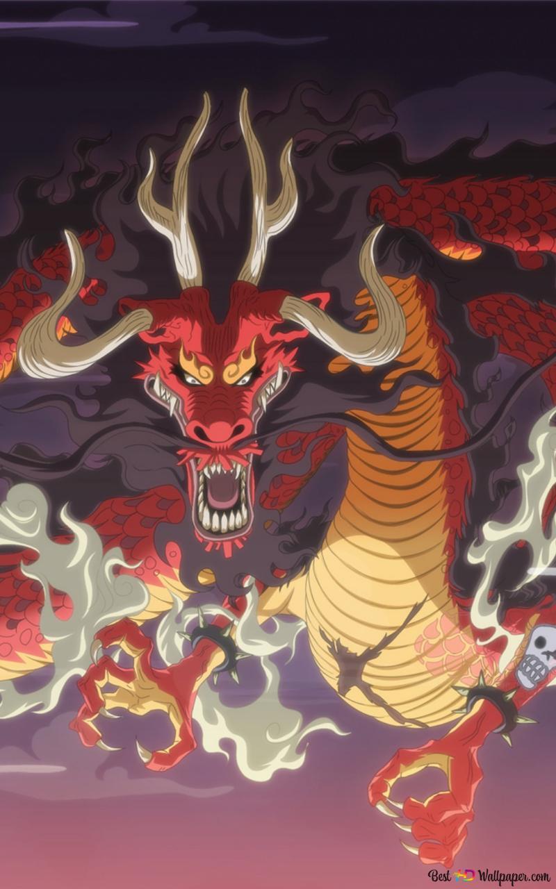 One Piece Kaido Dragon Form Hd Wallpaper Download