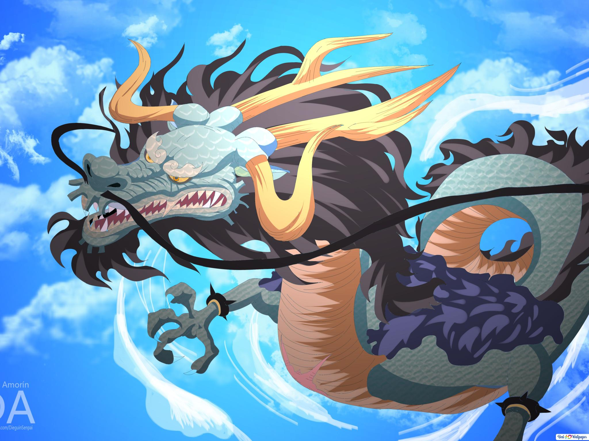 One Piece Kaido Sea Emperor Hd Wallpaper Download