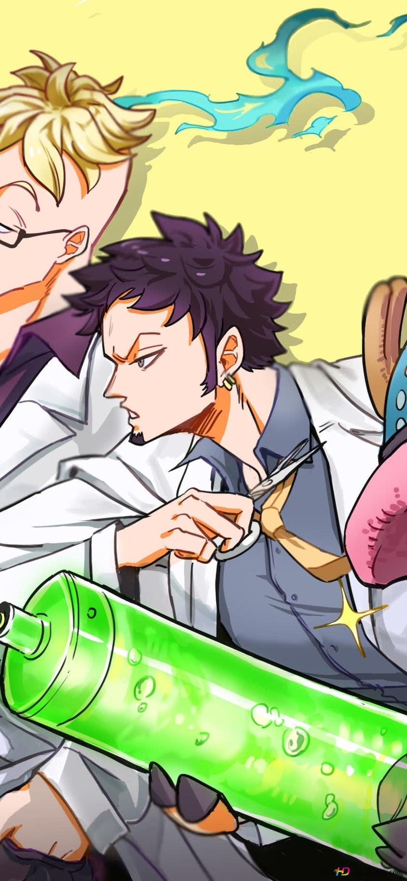 Descargar Fondo De Pantalla One Piece Marco El Phoenix