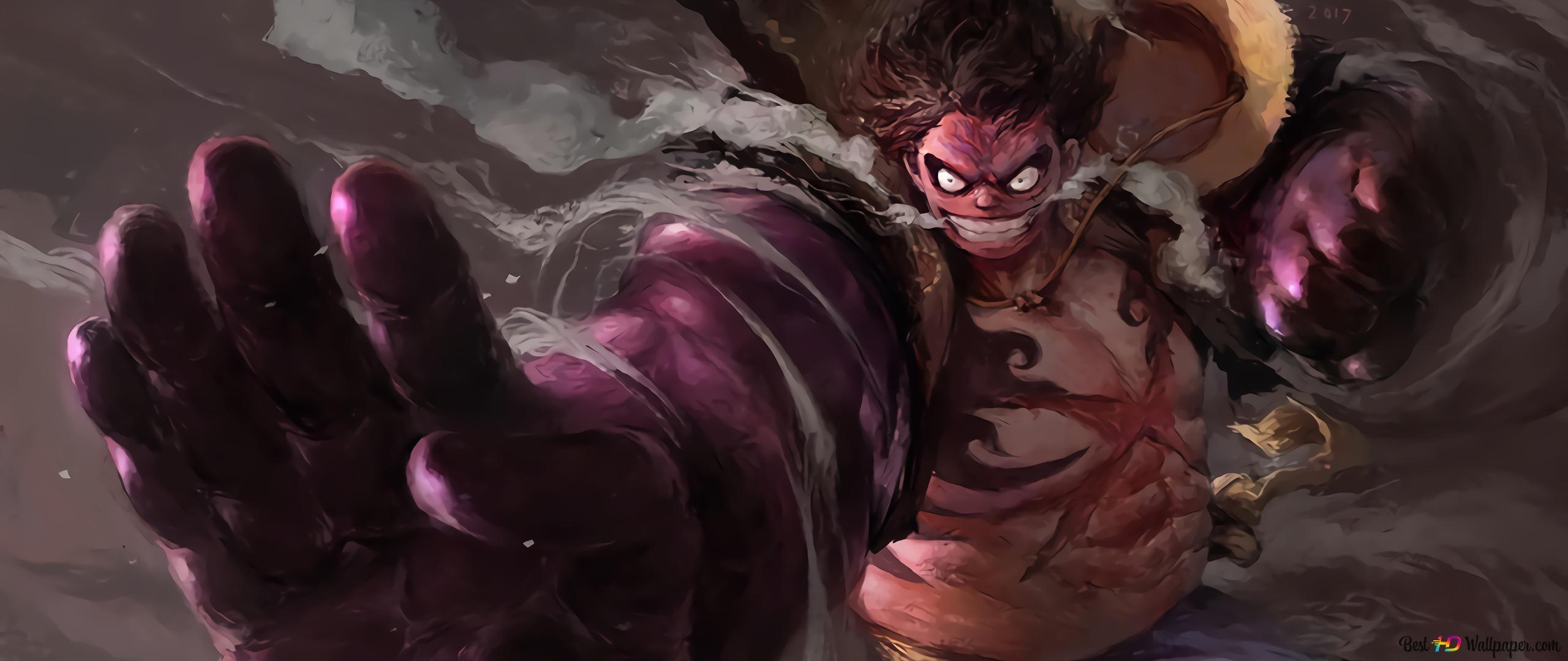 One Piece Monkey D Luffy Gang Vierter Boundman Hd
