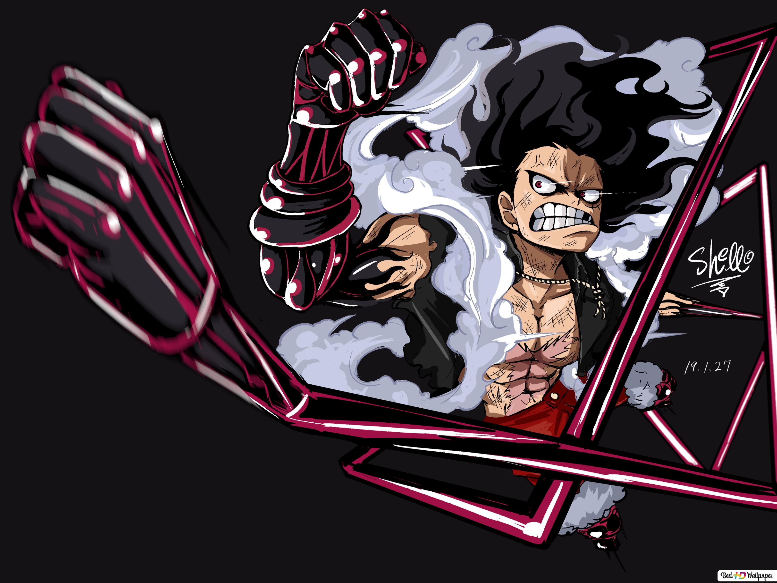 Wallpaper One Piece Luffy Lucu Top Anime Wallpaper