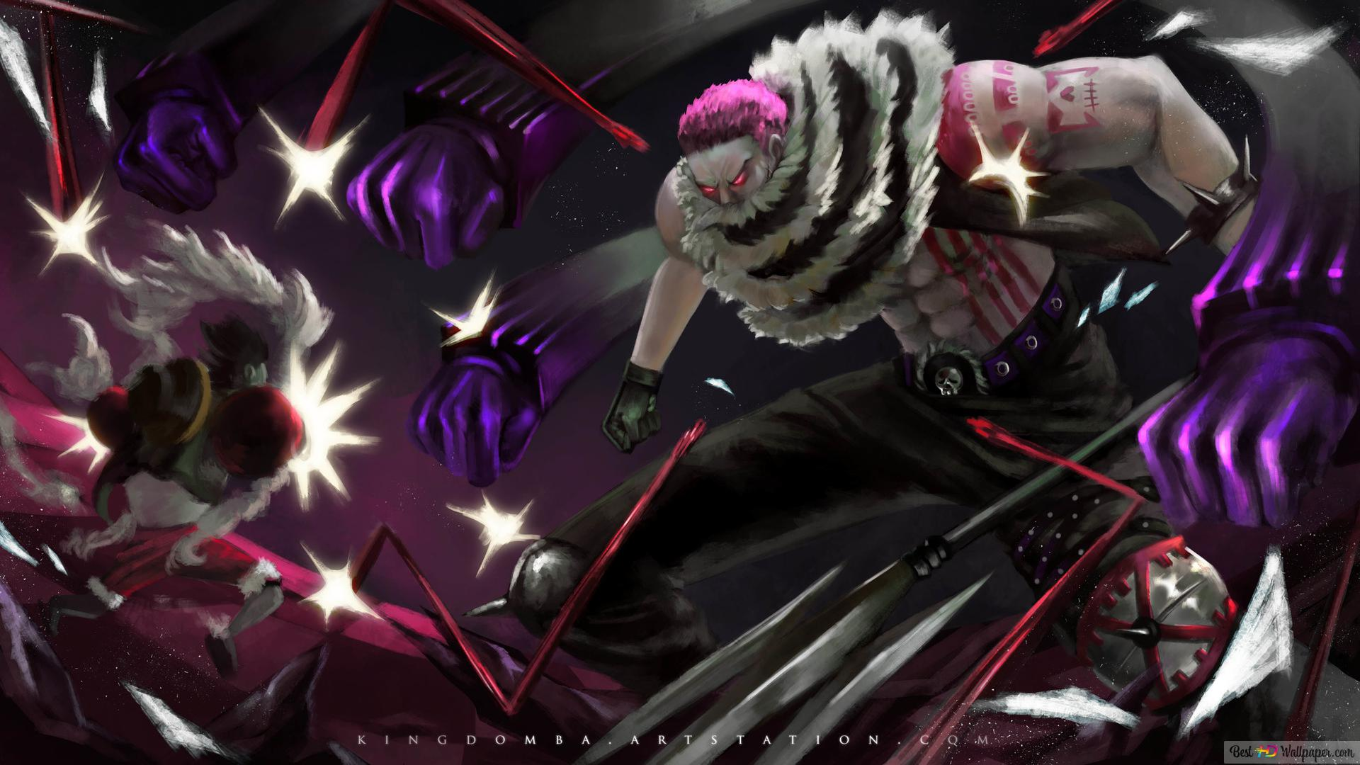 One Piece Monkey D Luffy Vs Charlotte Katakuri Hd