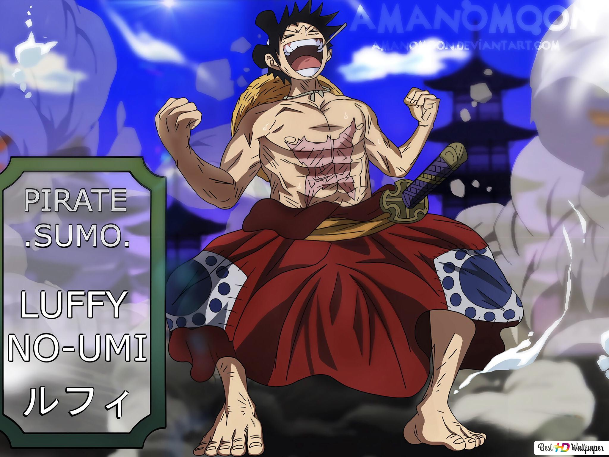 One Piece Monkey D Luffy Wano Kuni Arc Hd Wallpaper Download