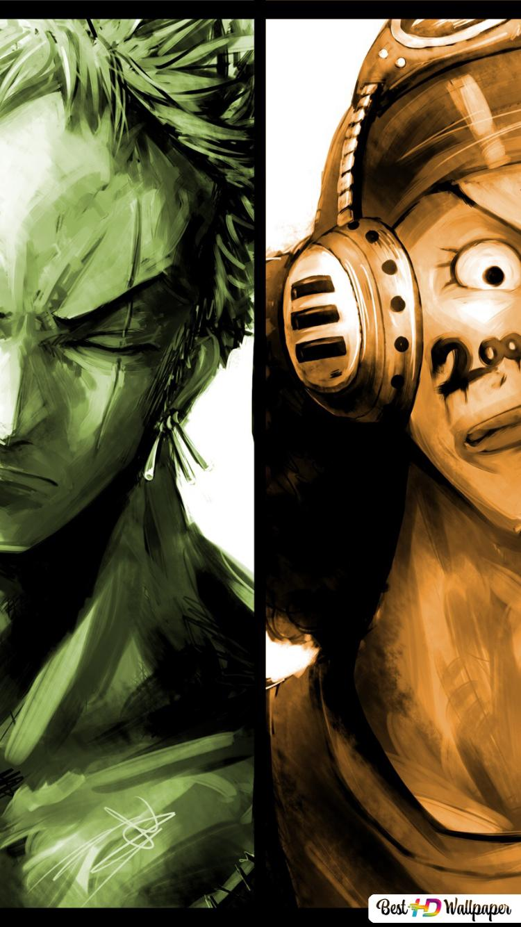 Luffy Zoro Sanji Wallpaper Iphone Gambarku