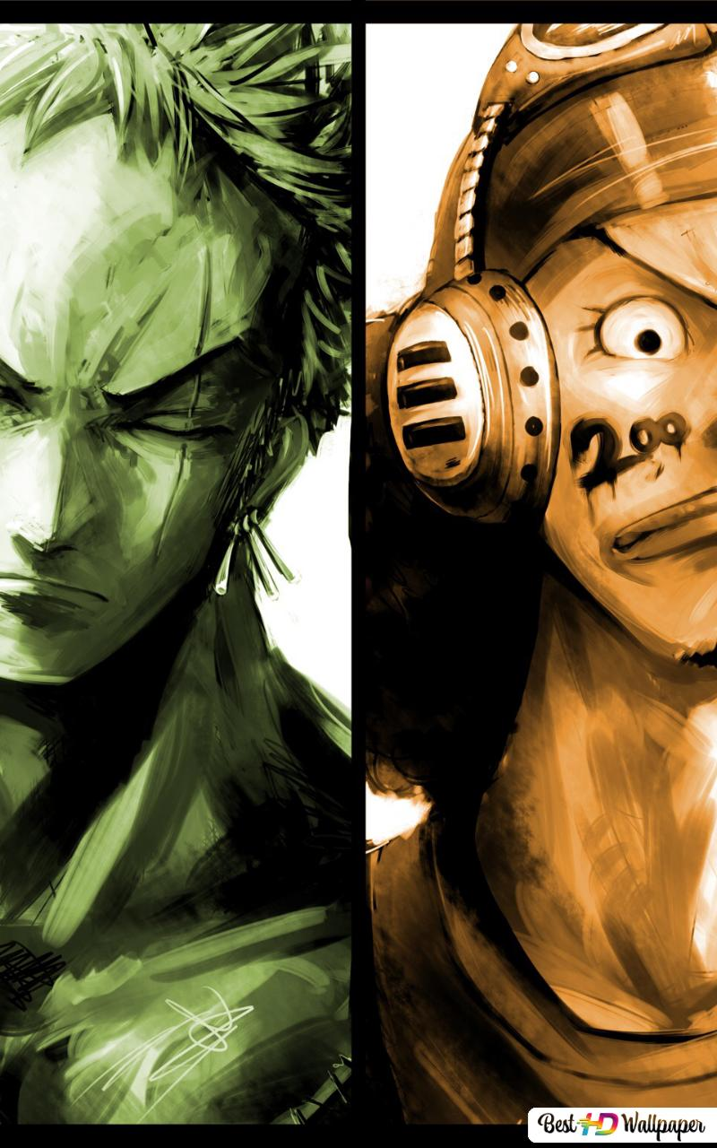 One Piece Monkey D Luffy Zoro Roronoa Usopp Sanji Vinsmoke Hd