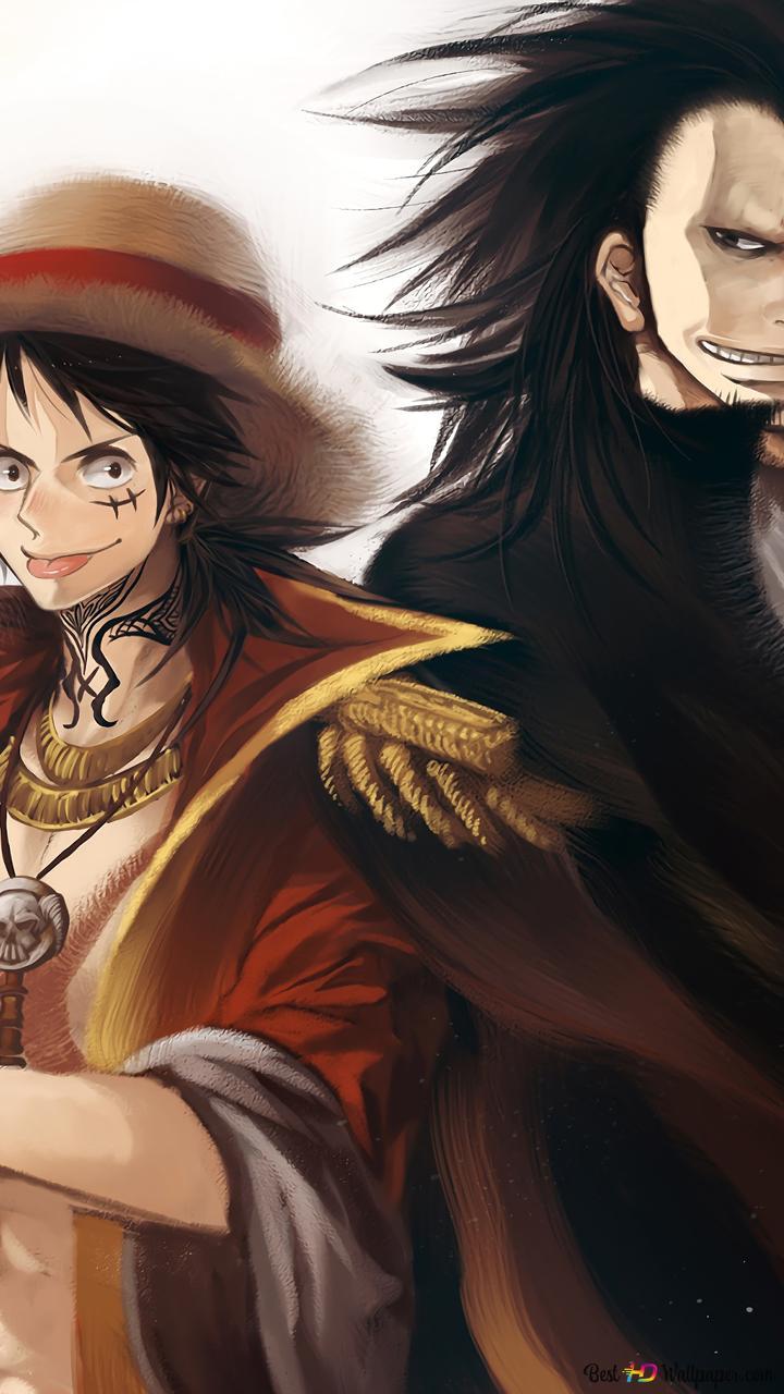 One Piece Monkey D Naga Monkey D Luffy Unduhan Wallpaper Hd