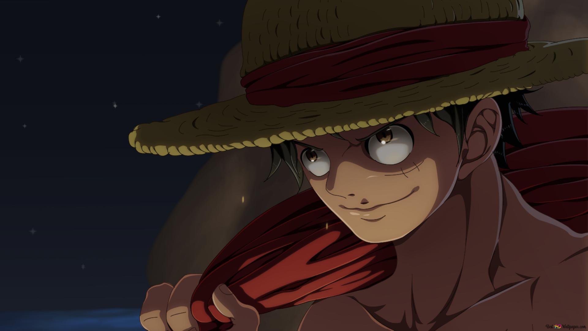 One Piece Monkey D Ruffy Lassen Sie Uns Gehen Hd
