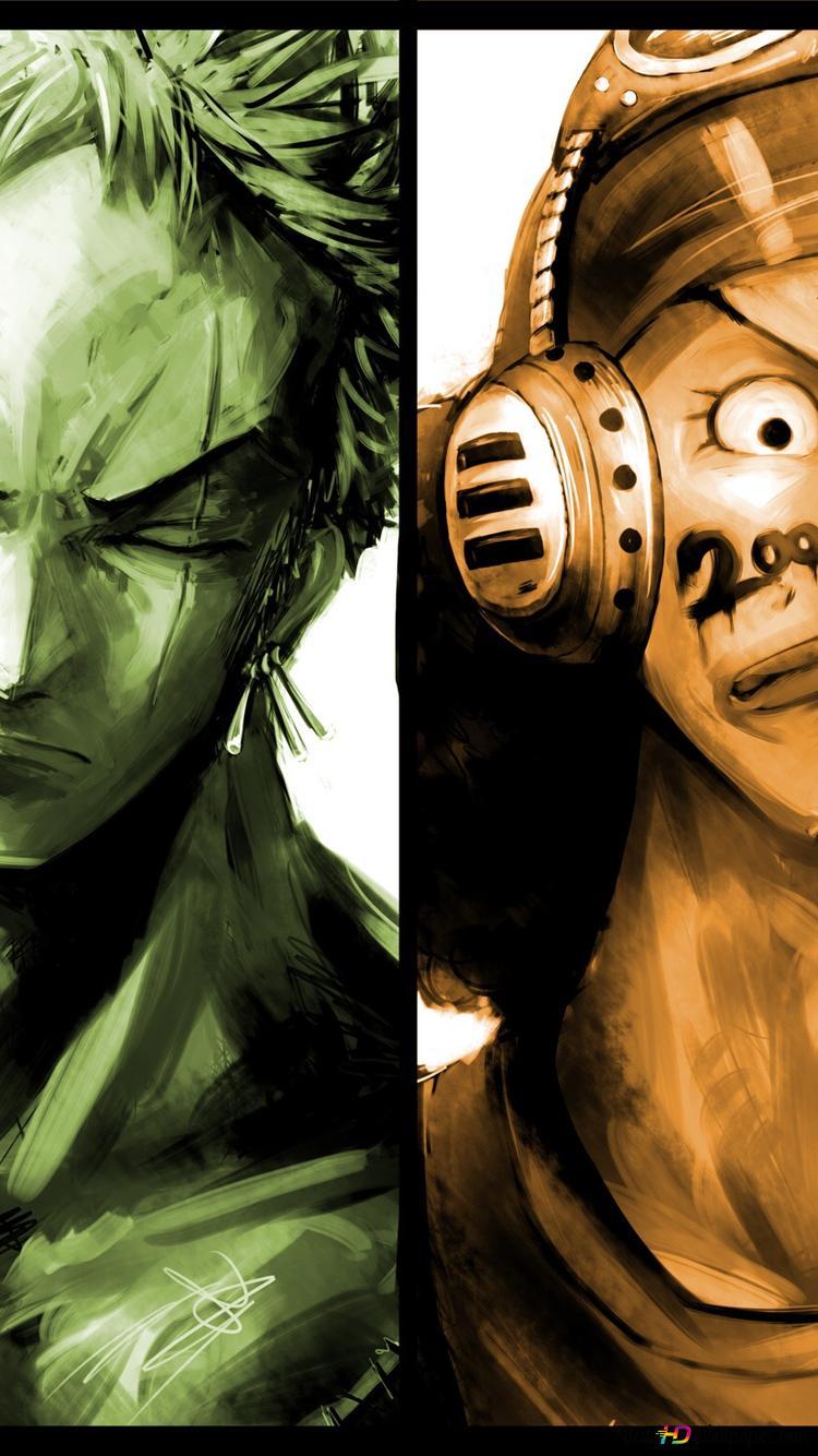 One Piece Monkey D Ruffy Zorro Roronoa Lysop Sanji Vinsmoke Hd