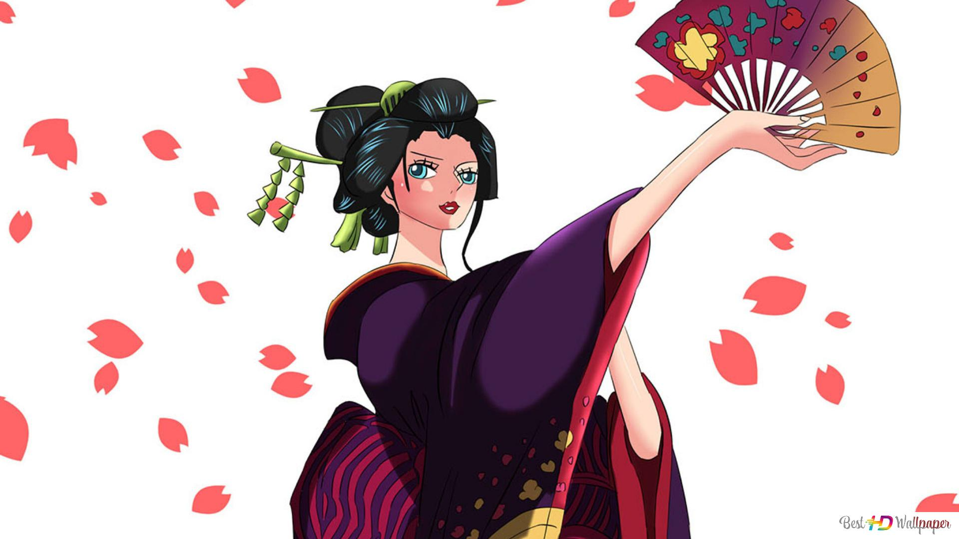 One Piece Nico Robin Wano Arc Hd Wallpaper Download
