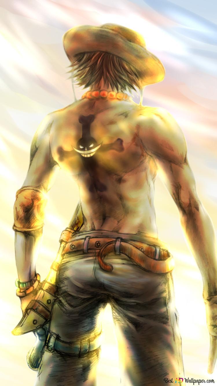 One Piece Portgas D Ace Whitebeard Pirate Hd