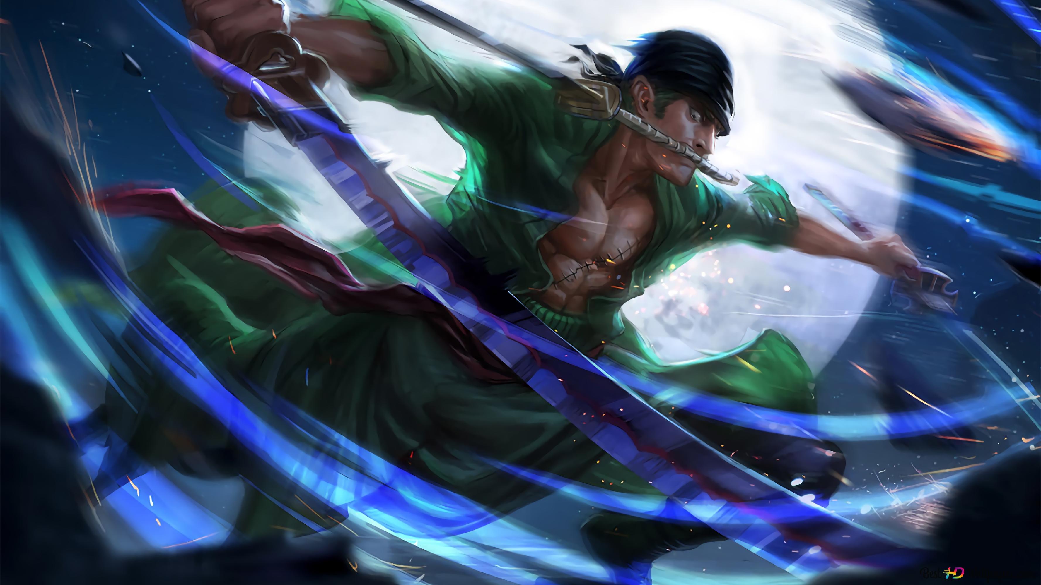 Descargar Fondo De Pantalla One Piece Roronoa Zoro Ex