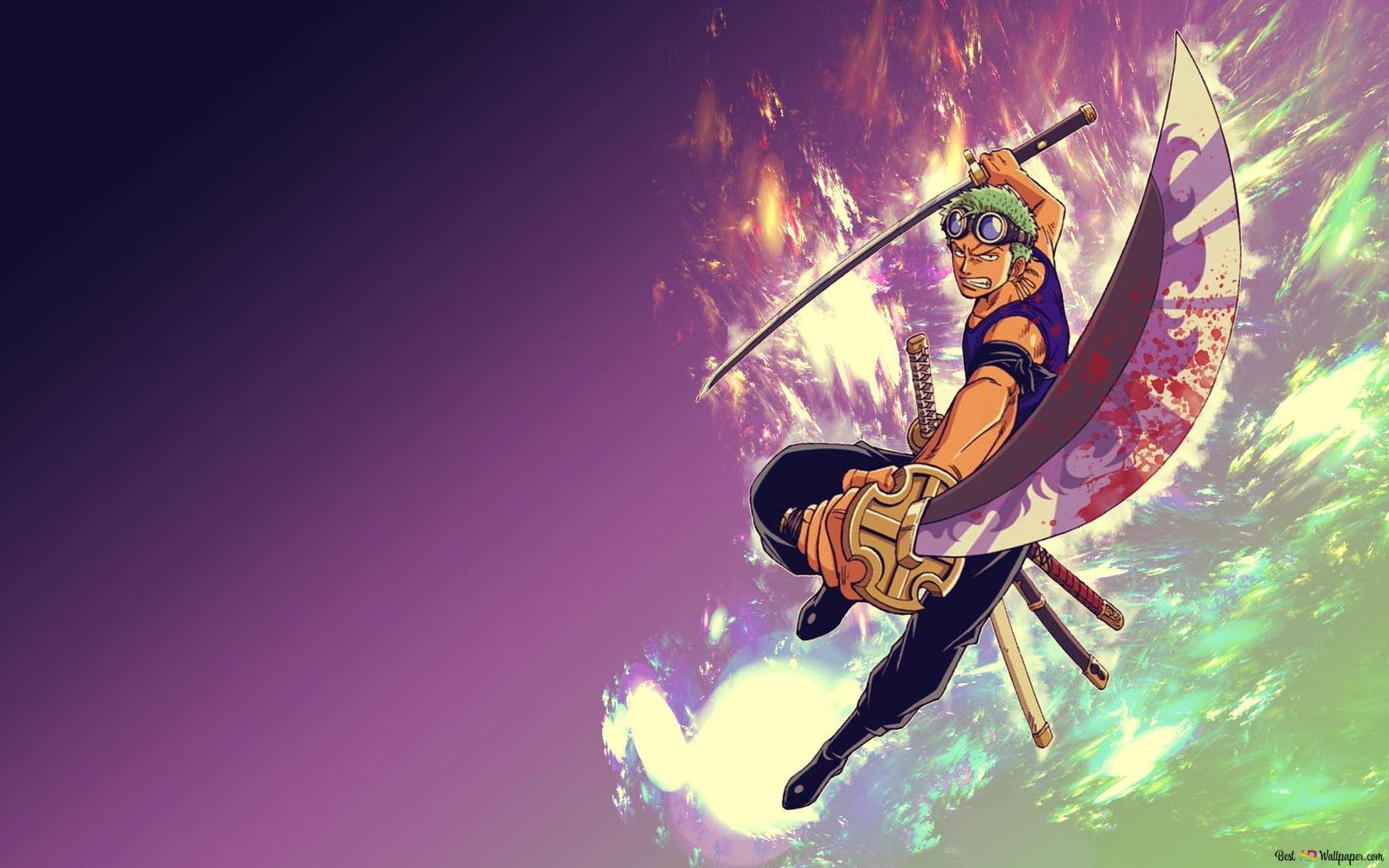 Descargar Fondo De Pantalla One Piece Roronoa Zoro Samurai Hd