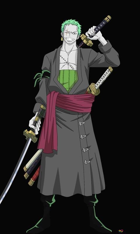One Piece Roronoa Zoro Zombie Hd Hintergrundbilder