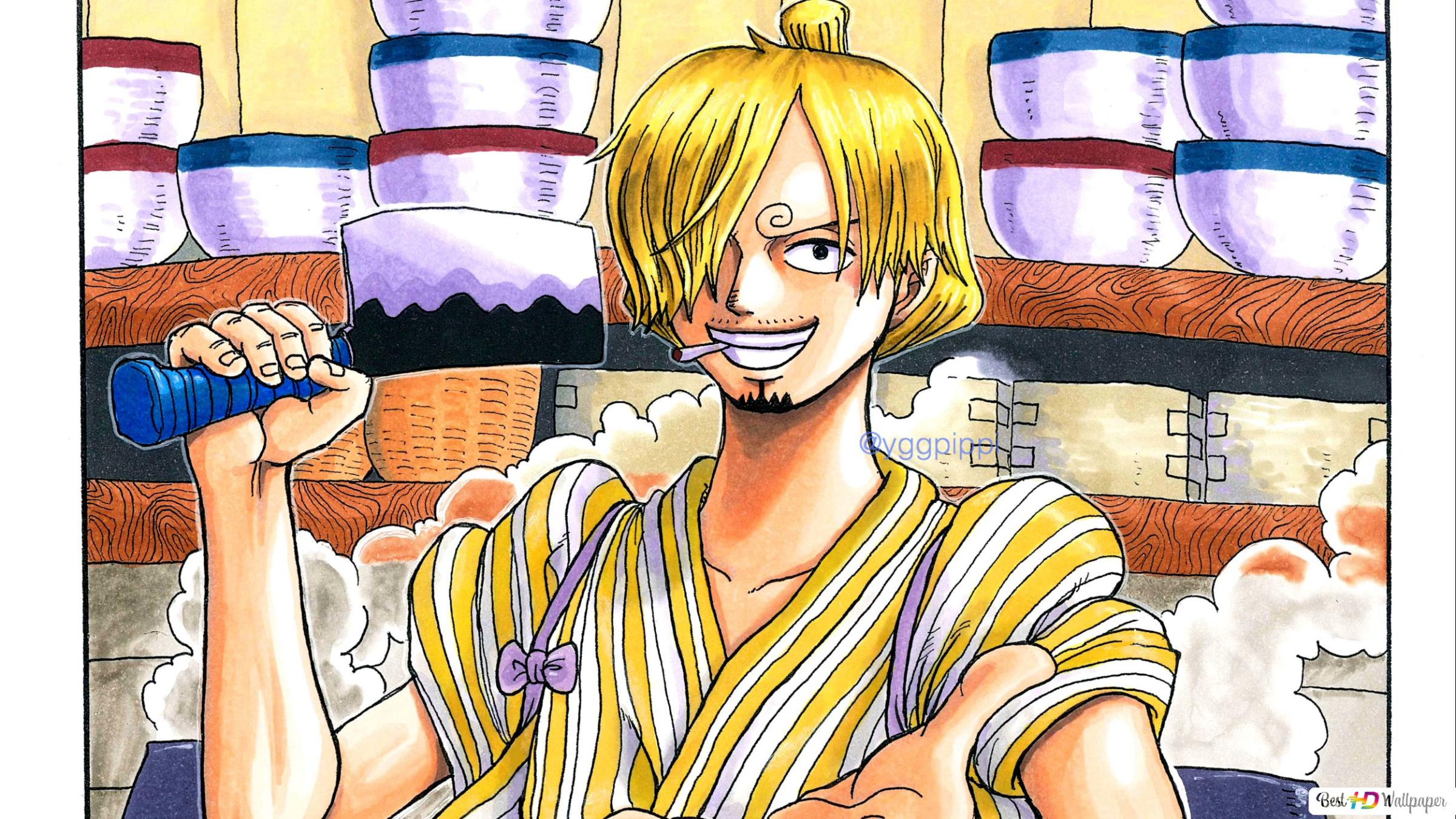 One Piece Sanji Maded Soba Hd Wallpaper Download