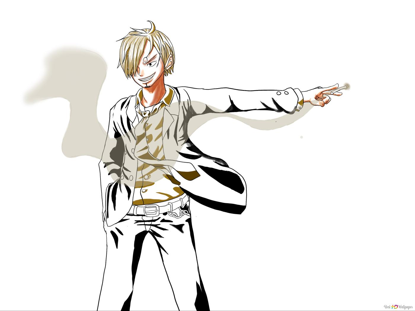 one piece sanji strawhat pirate hd wallpaper download Cool HD Wallpapers 1080P 1440x1080