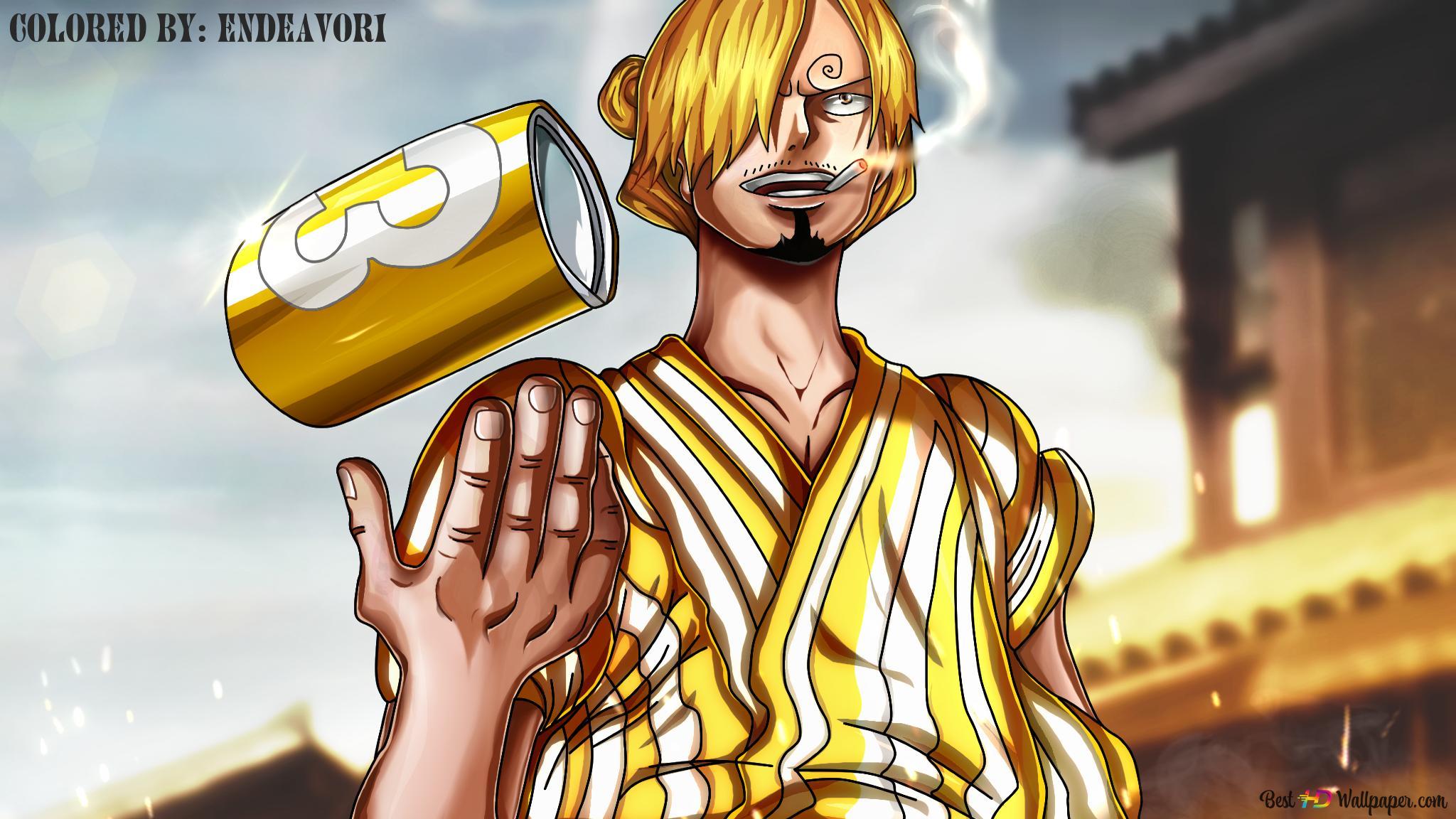 One Piece Sanji Wano Arc Kuni Hd Fond Décran Télécharger