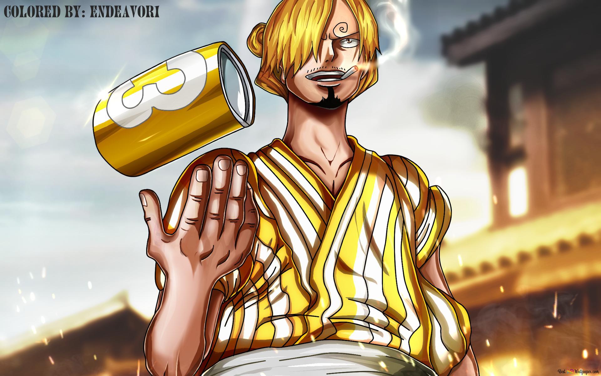One Piece Sanji Wano Kuni Arc Hd Hintergrundbilder