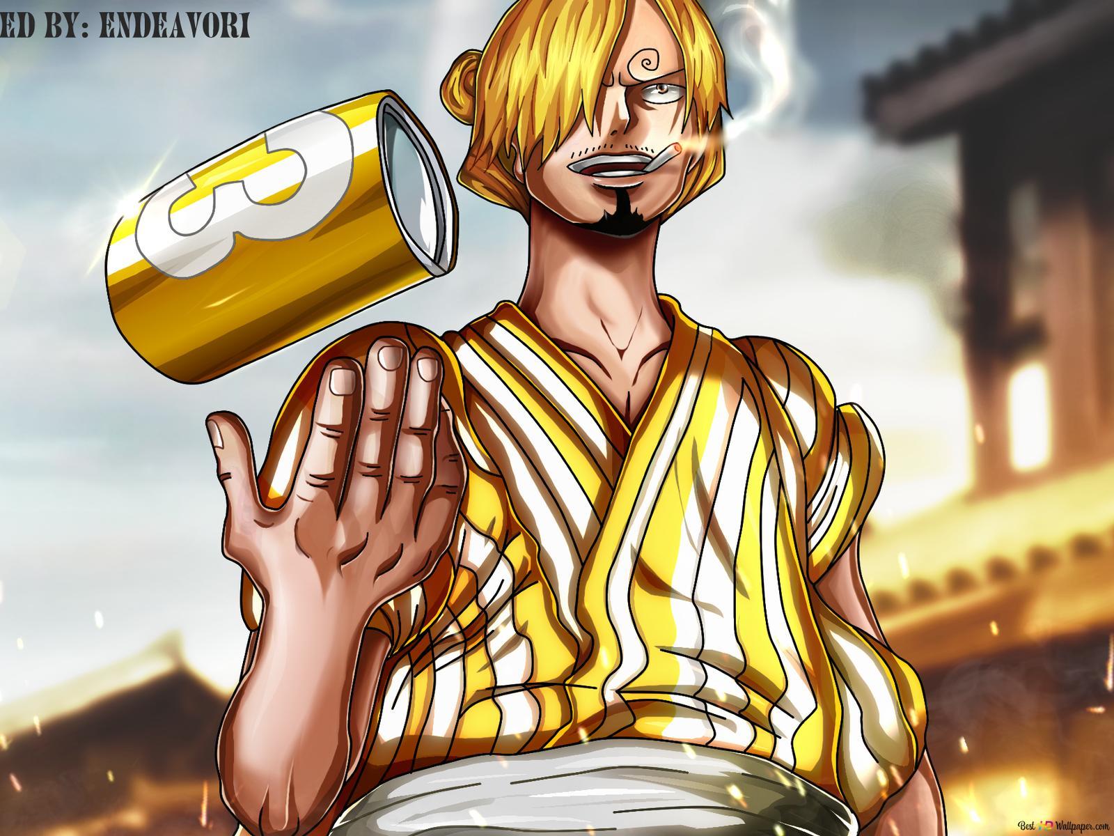 One Piece Sanji Wano Kuni Arc Hd Wallpaper Download