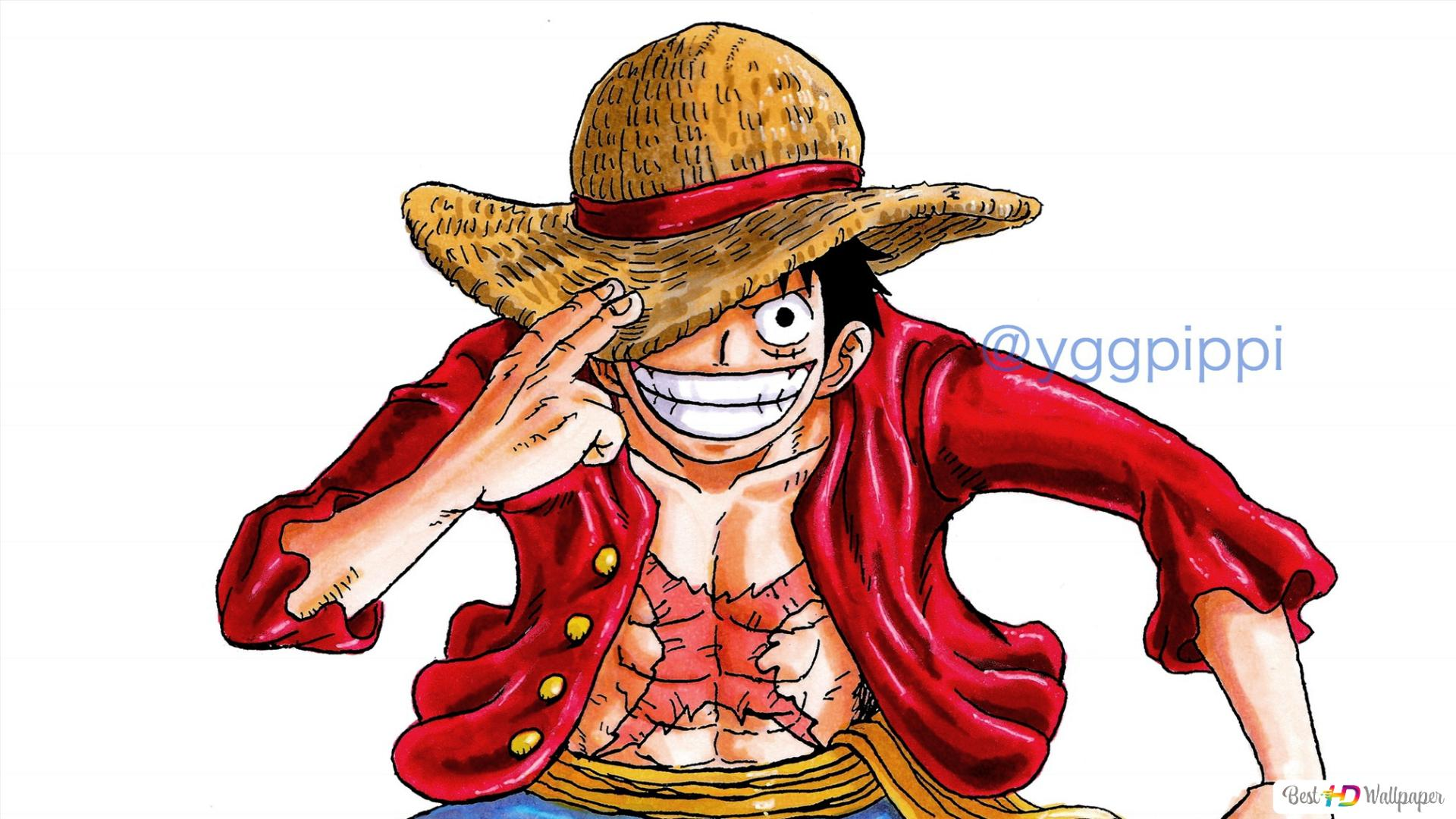 One Piece Straw Hat Luffy Hd Wallpaper Download