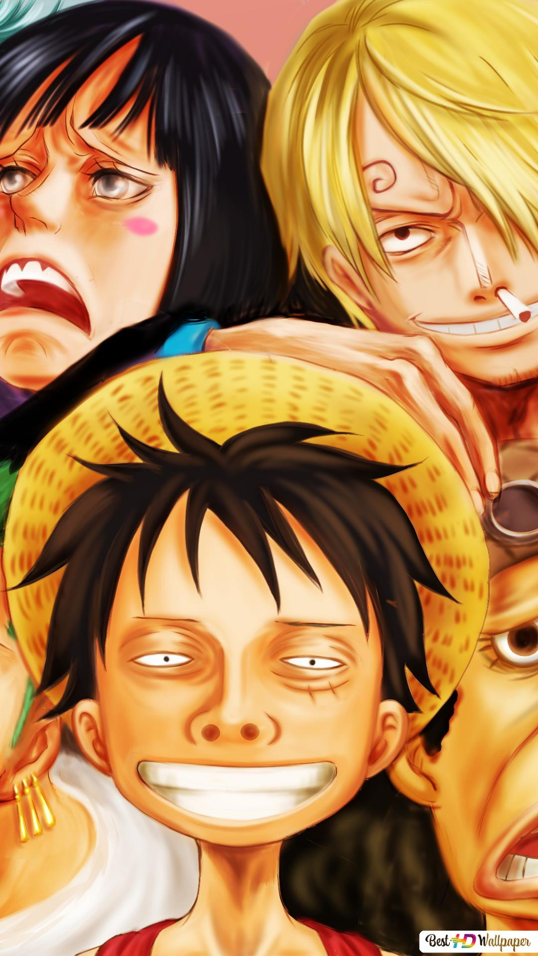 One Piece Strawhat Pirates Unduhan Wallpaper Hd