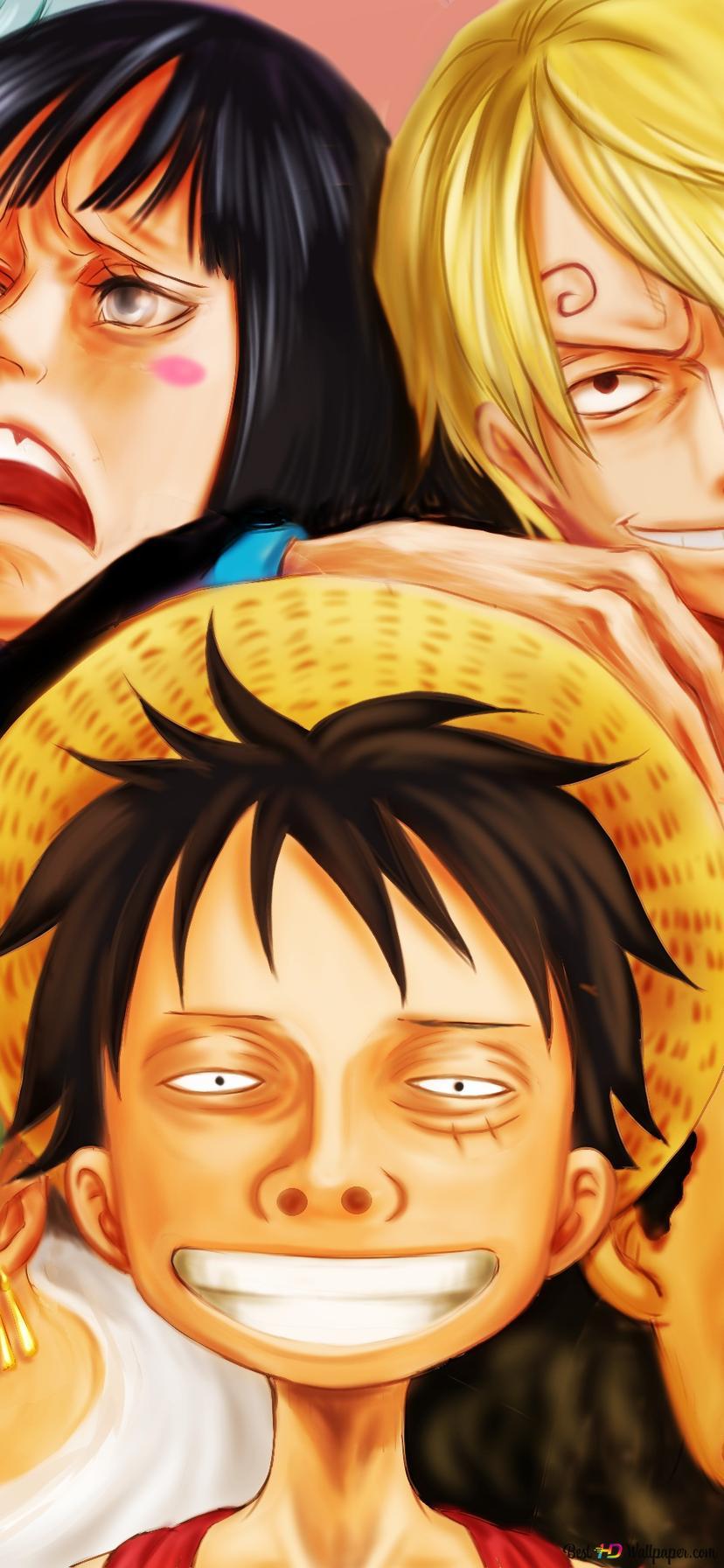 Download Wallpaper One Piece Hd Portrait