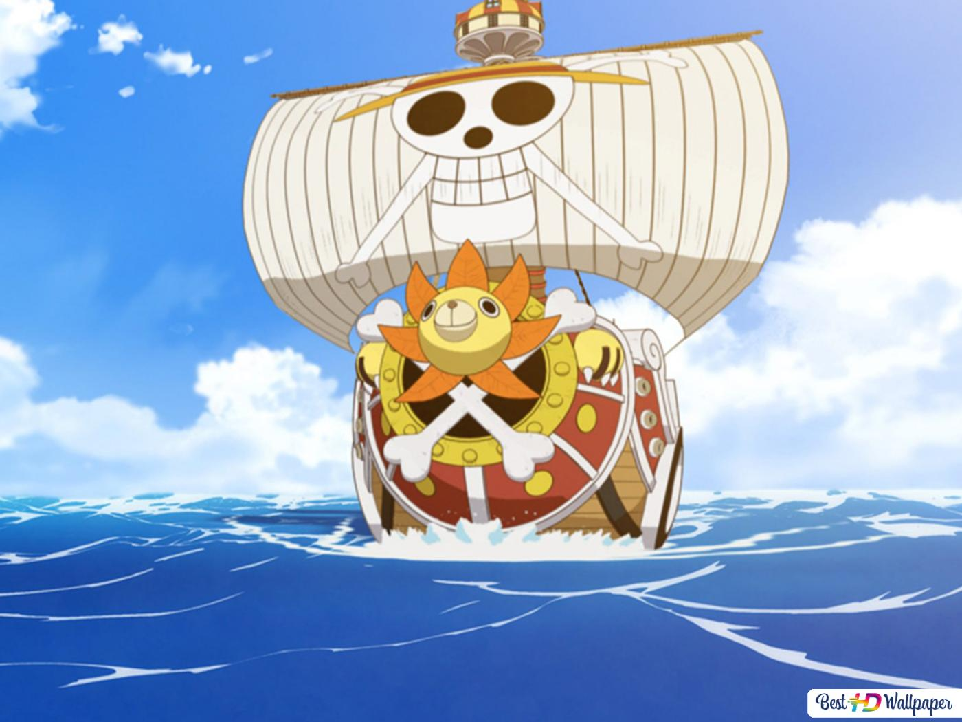 One Piece - Thousand Sunny,Pirate Ship HD wallpaper download