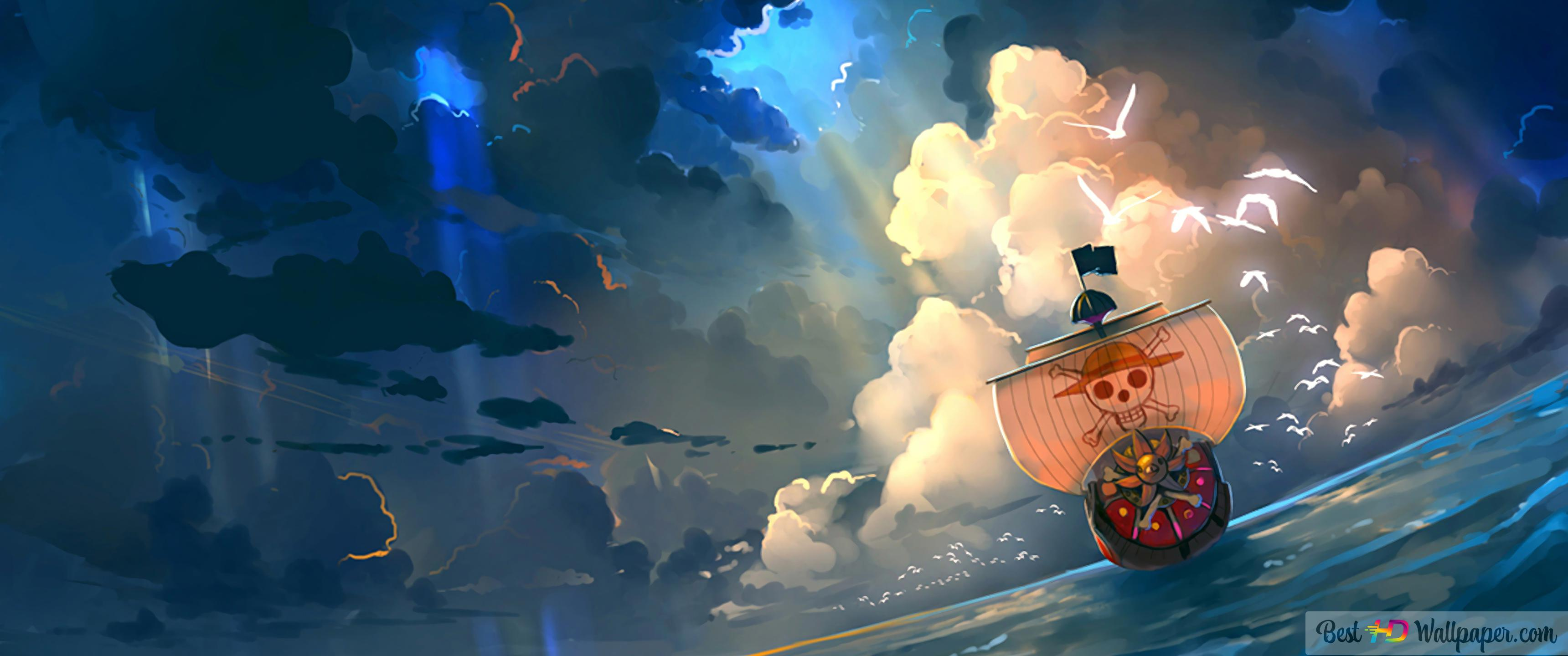 One Piece - Thousand Sunny HD wallpaper