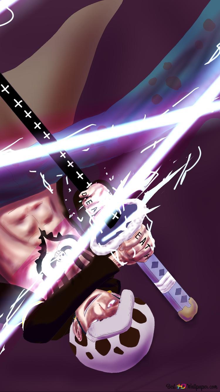 One Piece Trafalgar D Water Law Surgeon Of Death Heart Pirate Hd Wallpaper Download