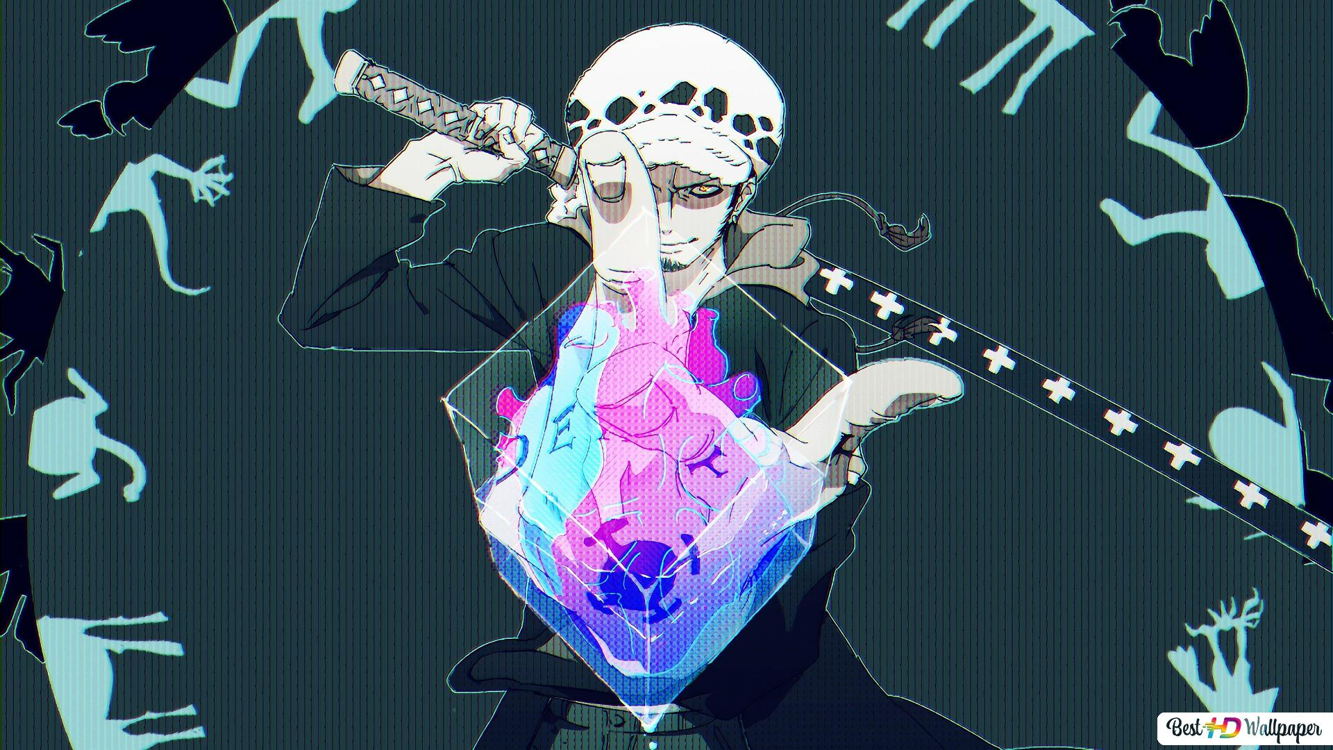 One Piece Trafalgar D Water Law Surgeon Of Death Hd Wallpaper