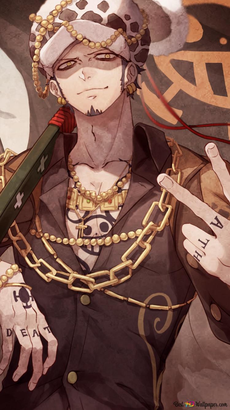 One Piece Trafalgar Law Herz Piraten Hd Hintergrundbilder