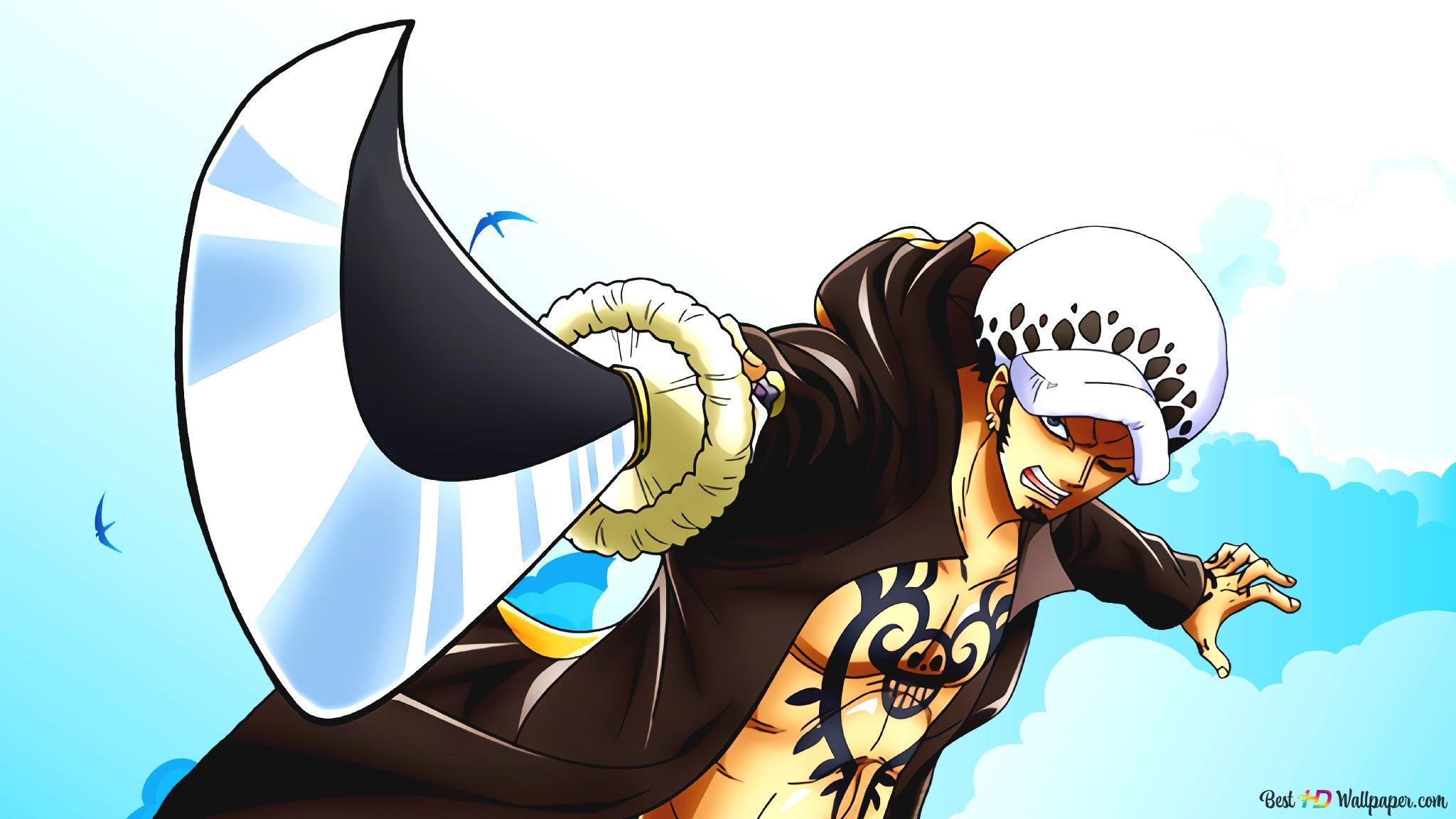 One Piece Trafalgar Law Hd Wallpaper Download